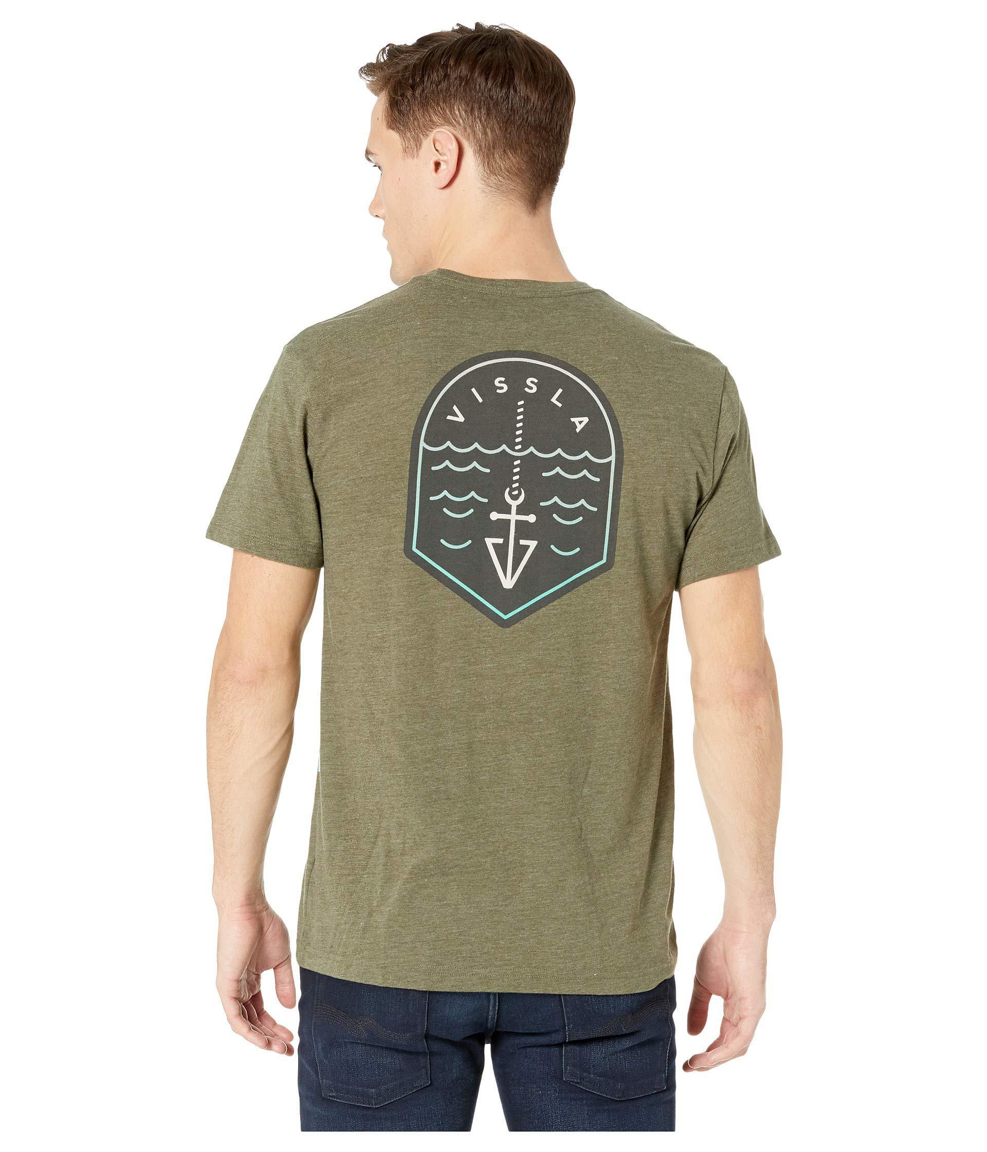 b03511e1 Lyst - Vissla Turnpike (dark Olive Heather) Men's Clothing in Green ...