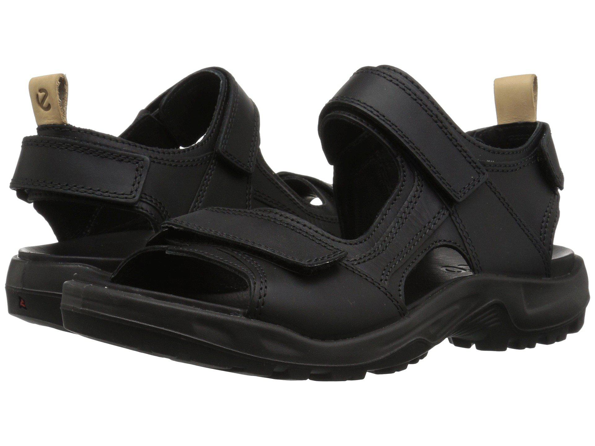 0132df6ec595 Lyst - Ecco Offroad 2.0 Sandal (black powder) Men s Sandals in Black ...