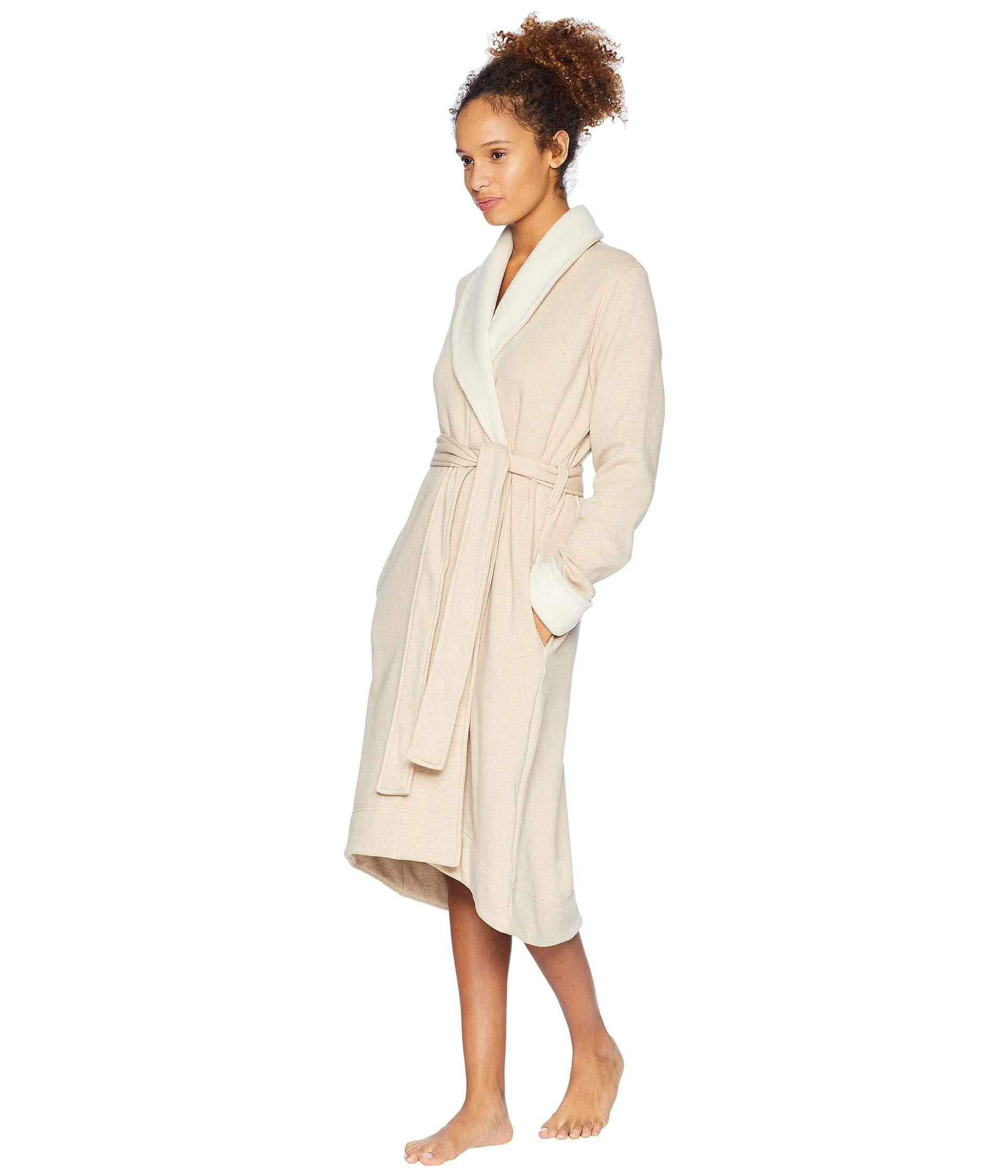 91e92df637 Lyst - UGG Duffield Ii Robe (black Bear Heather) Women s Robe in Natural