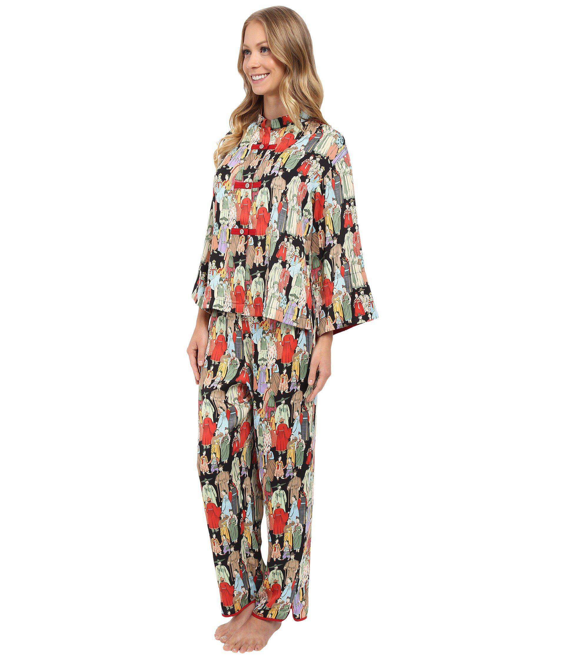 090ce9c614 Lyst - Natori Dynasty Pj (black) Women s Pajama Sets in Black
