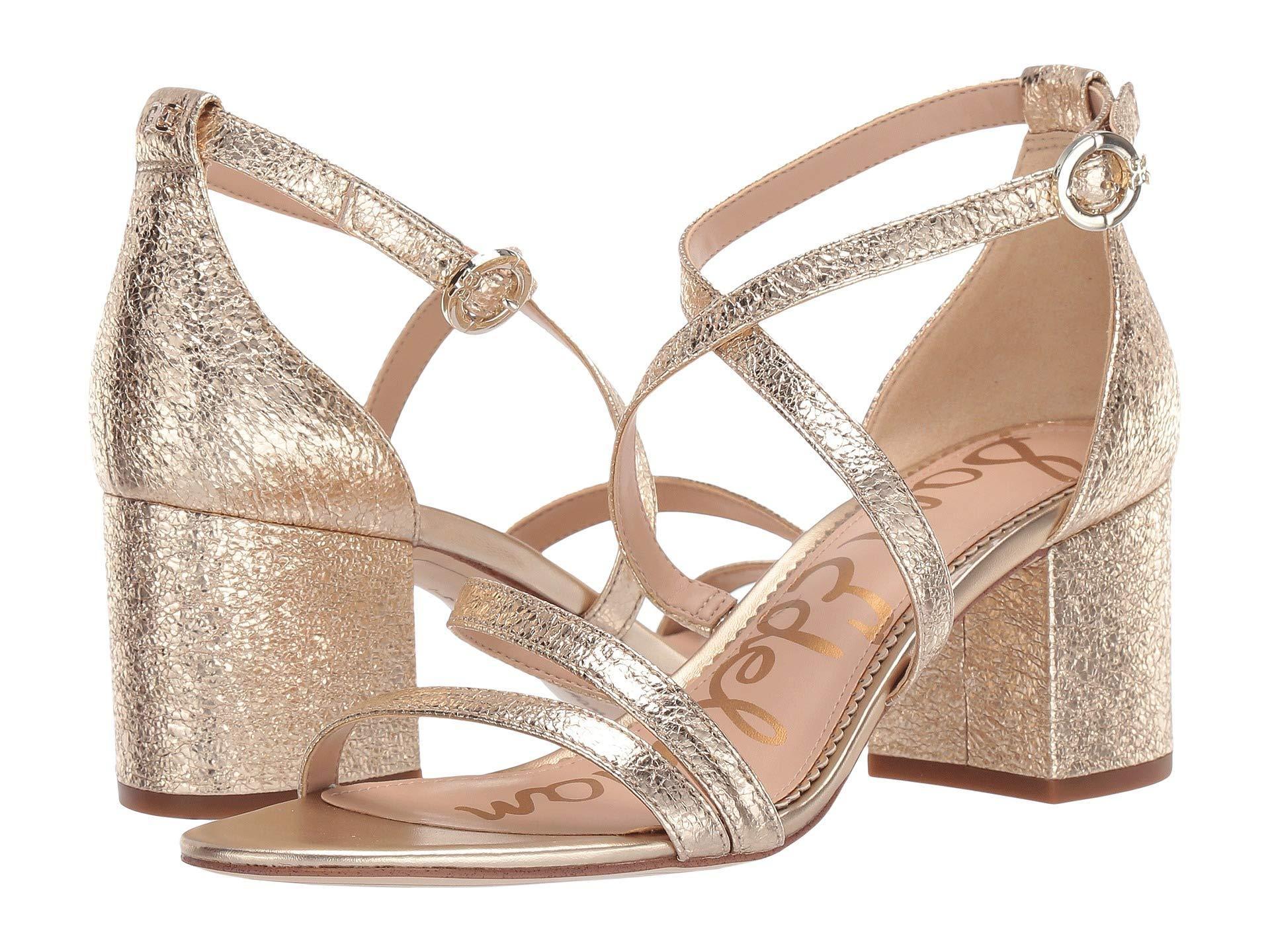 edfd161dd78c Lyst - Sam Edelman Stacie (black Kid Suede Leather) Women s Shoes