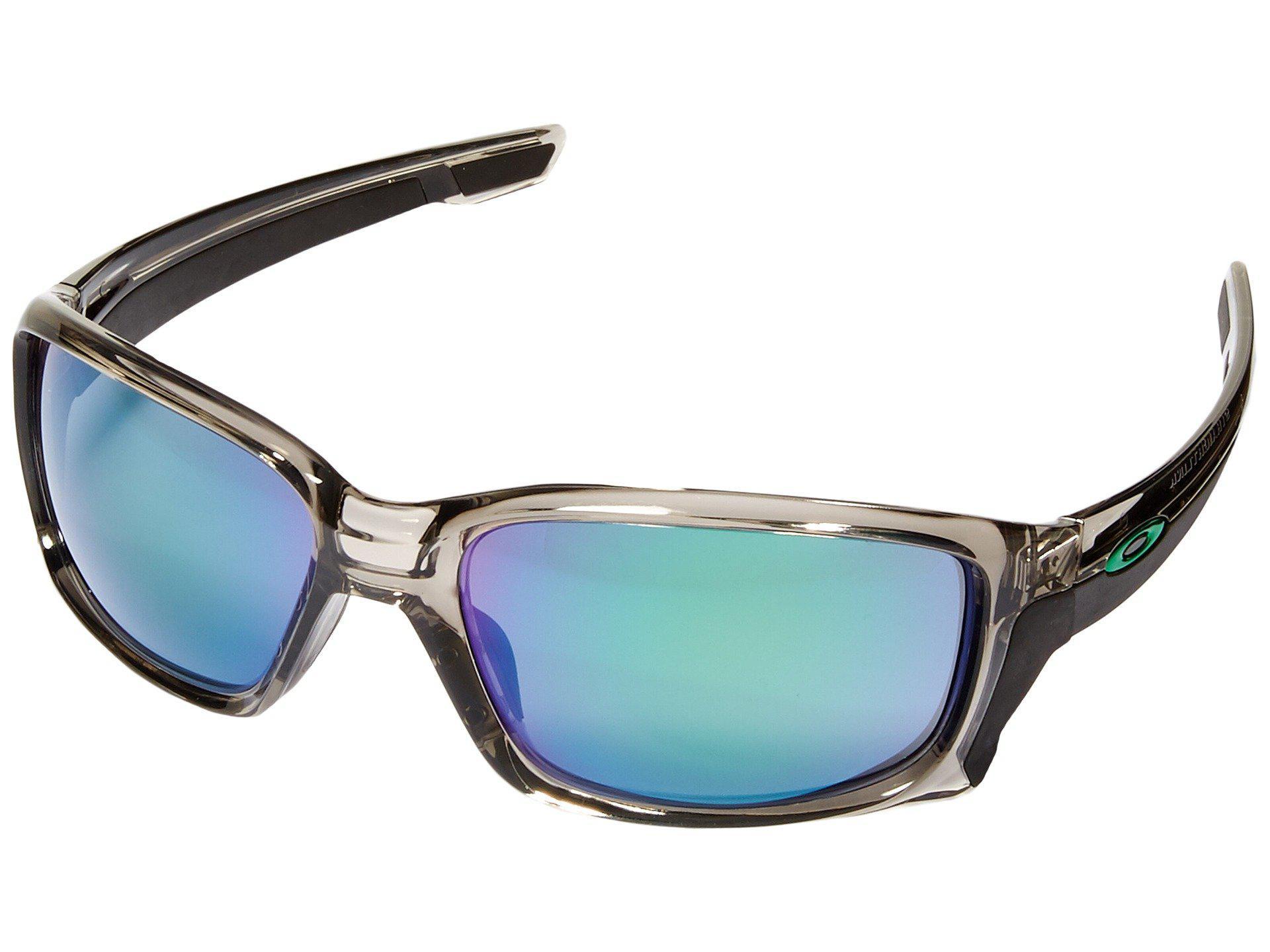 16040acebf2 Oakley. Men s Gray Straightlink (grey Ink jade Iridium) Fashion Sunglasses