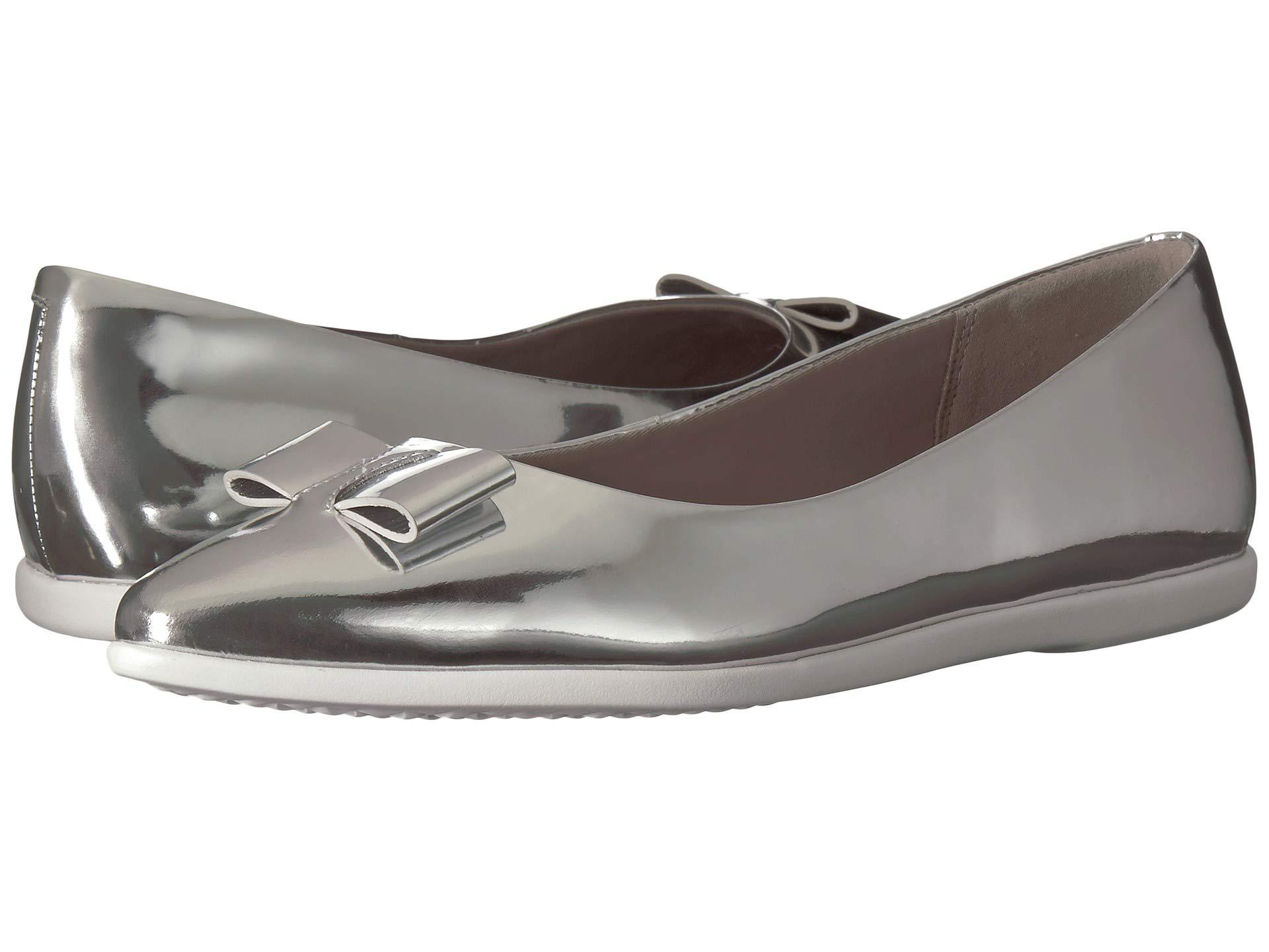 894a8fd0428 Cole Haan. 3.zerogrand Bow Skimmer (ch Argento Metallic) Women s Shoes