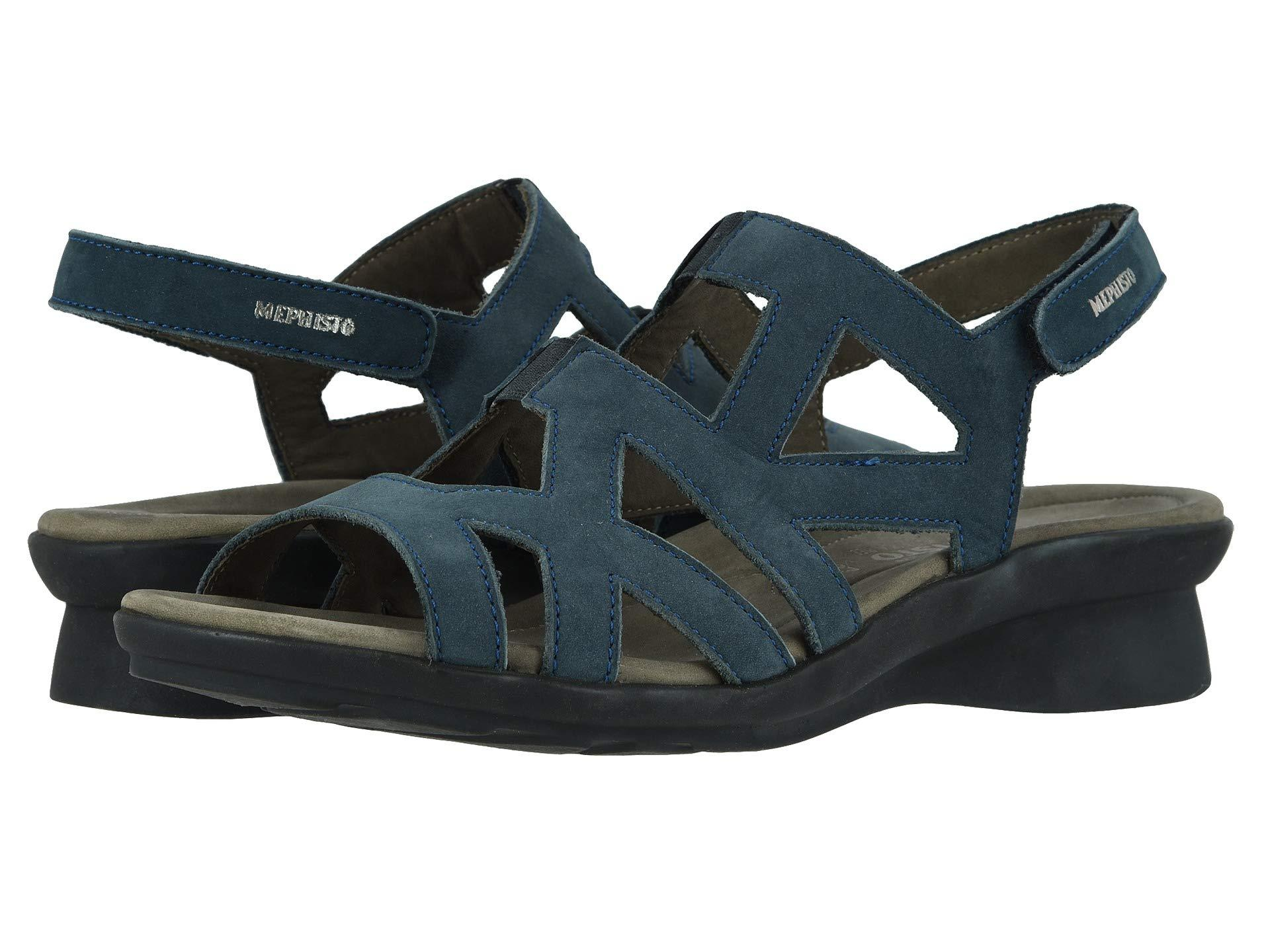 8162cacf9a1 Mephisto - Blue Pamela (navy Bucksoft) Women's Shoes - Lyst. View fullscreen
