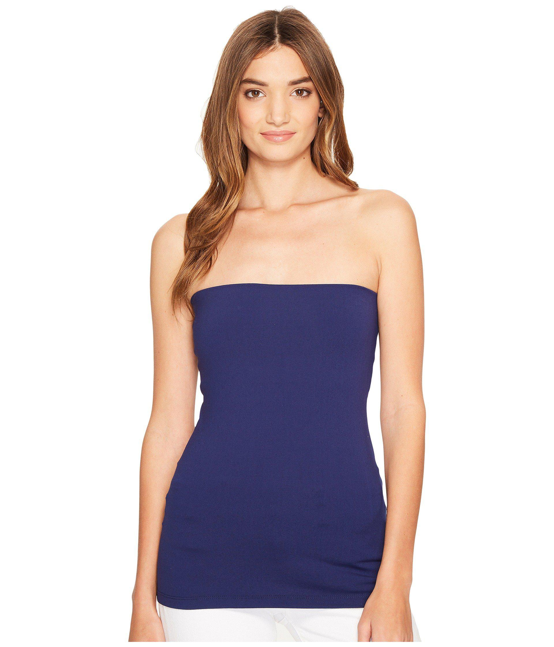 b145cfe808e441 Susana Monaco Tube Top (black 1) Women's Sleeveless in Blue - Lyst