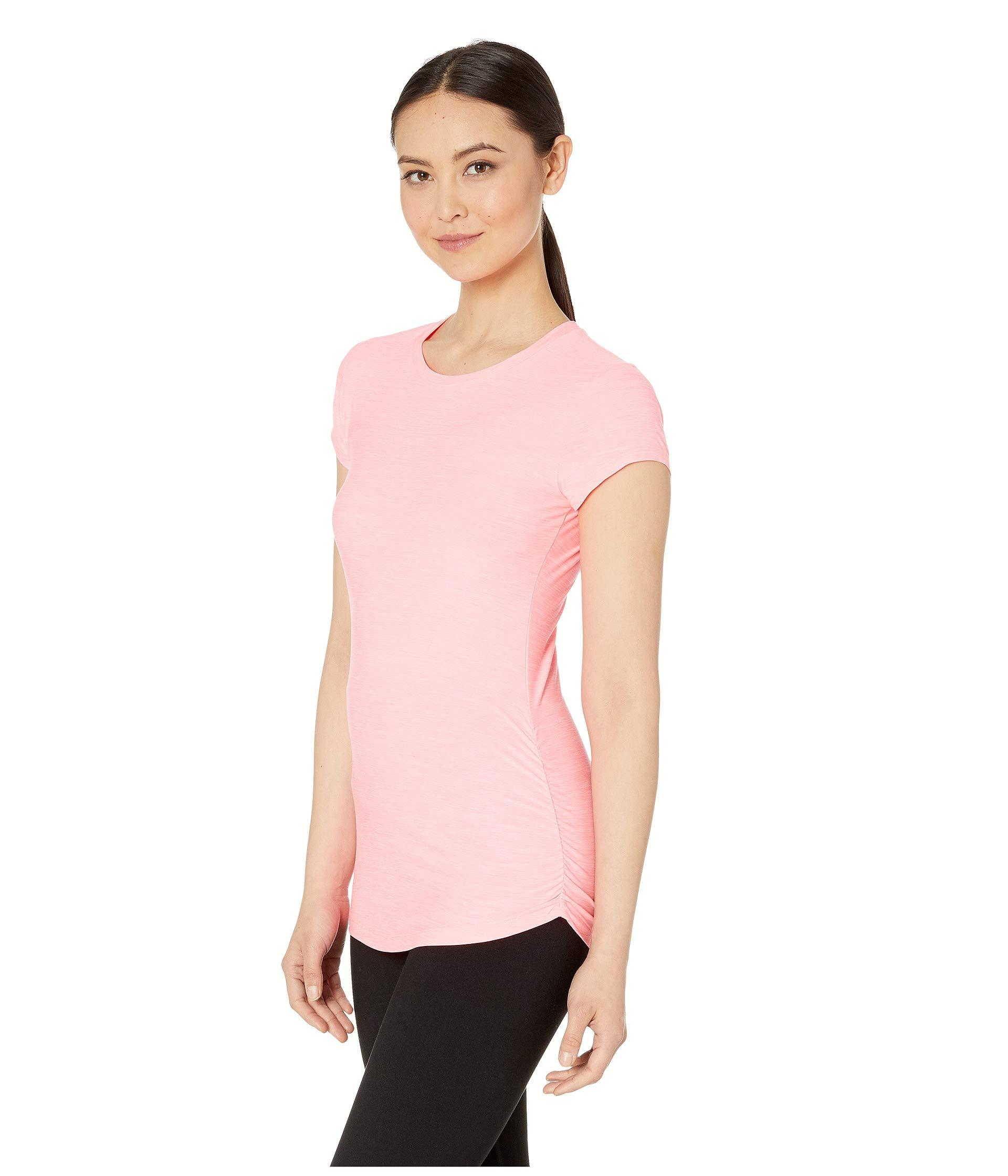 938cf15a71eb8 Lyst - New Balance Transform Tee (black) Women's Short Sleeve Pullover in  Pink