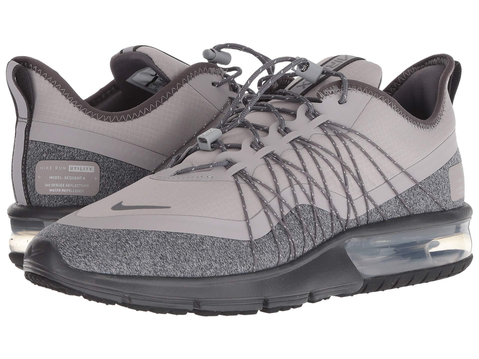 9ee239c39650cb Lyst - Nike Air Max Sequent 4 Shield (dark Grey metallic Silver ...