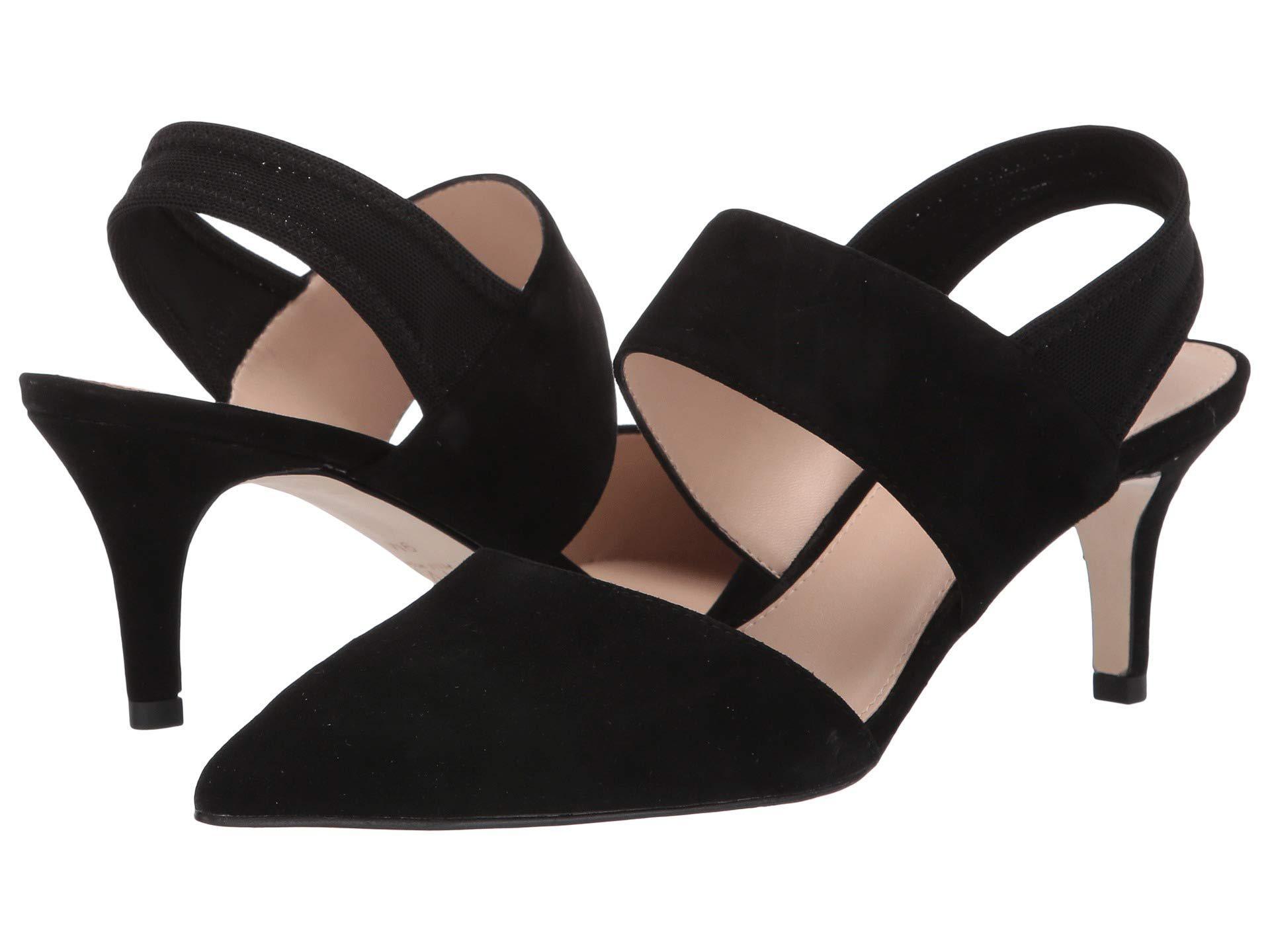 8ee6bc0b1b4a Lyst - Pelle Moda Keys (black Suede mesh) Women s Shoes in Black