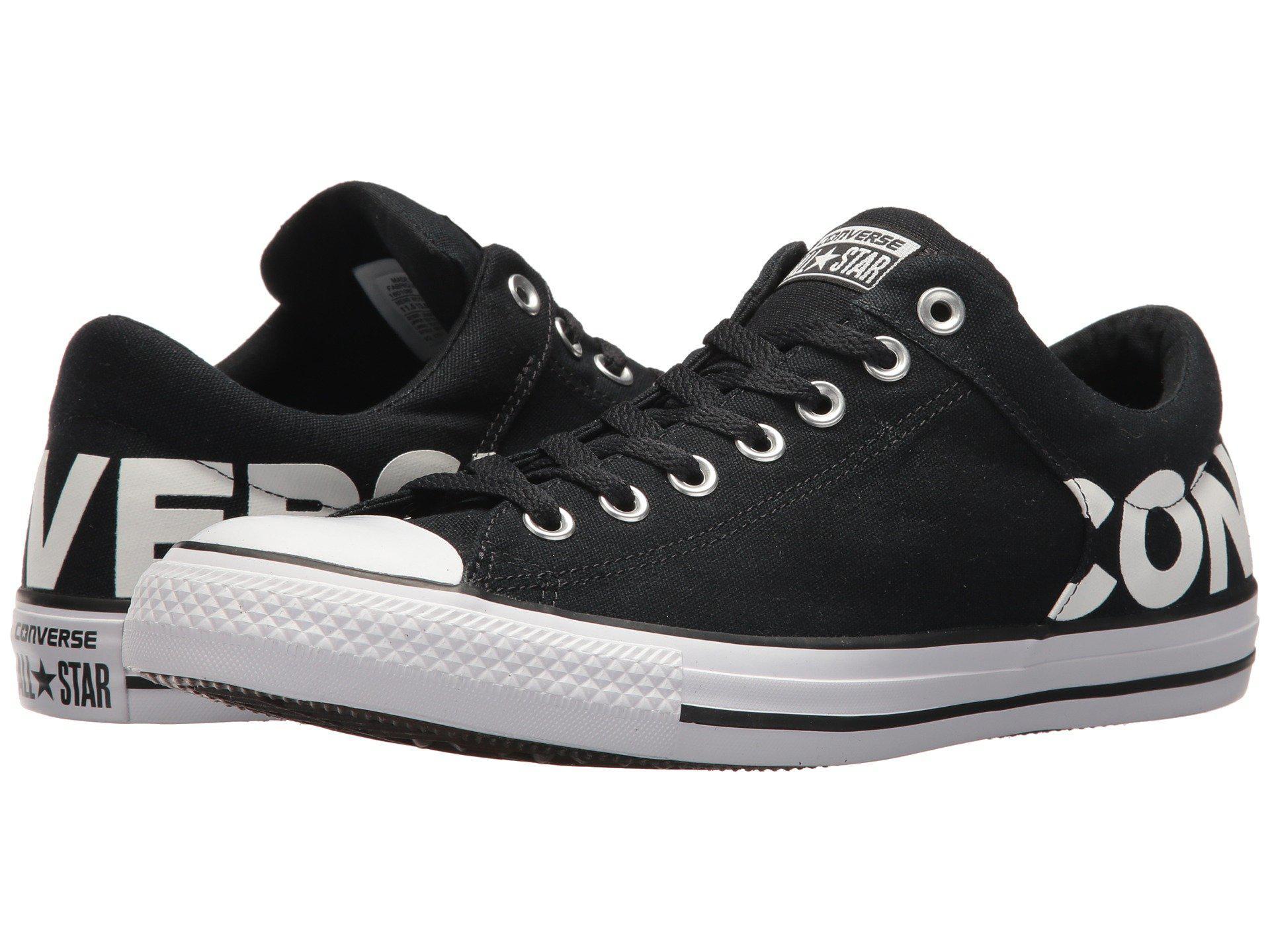 e9381b17ae Converse Chuck Taylor® All Star® High Street Wordmark Ox in Black ...