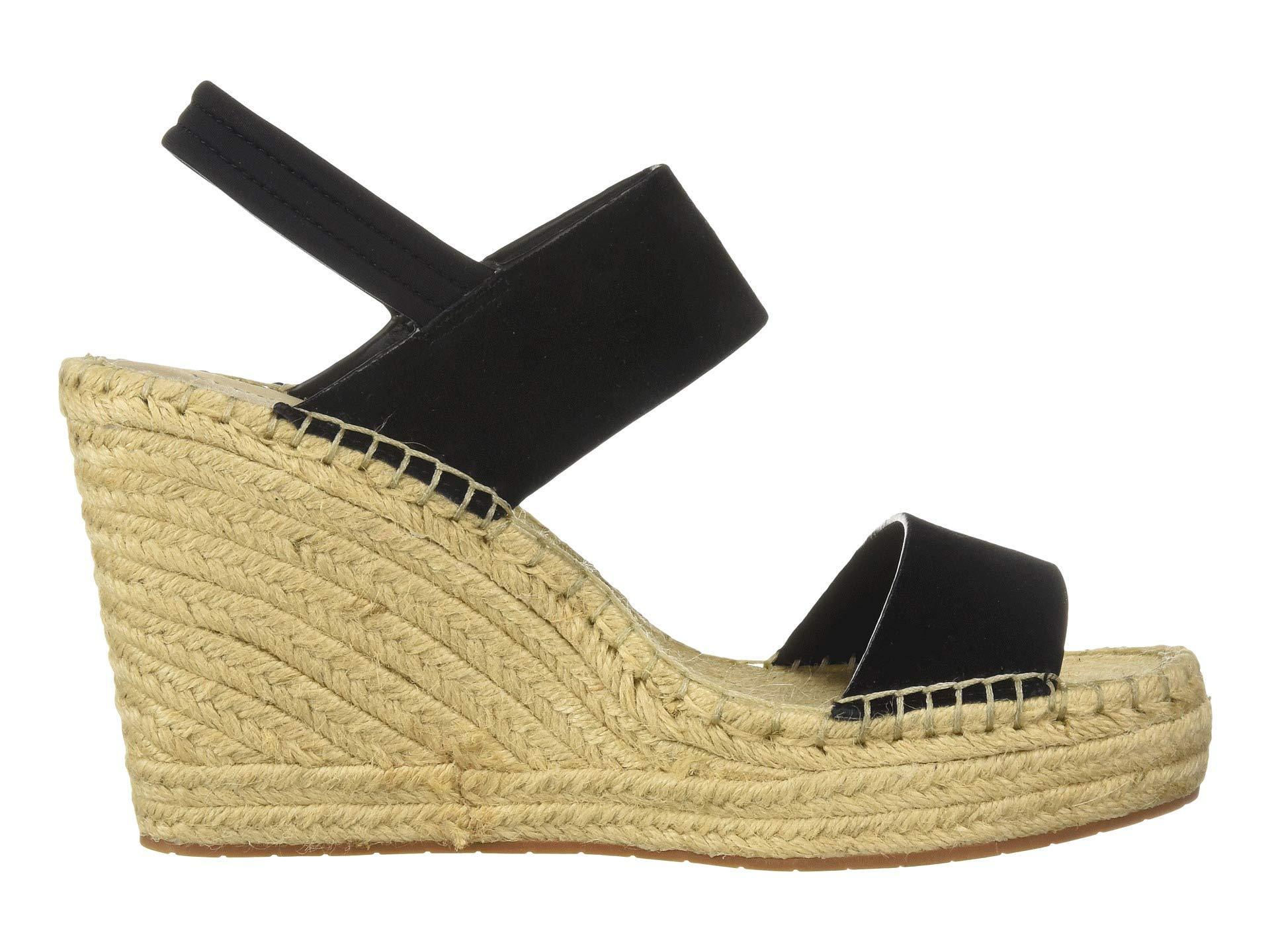 25848af3af6 Lyst - Kenneth Cole Olivia Simple Espadrille (black Suede) Women s Shoes in  Black
