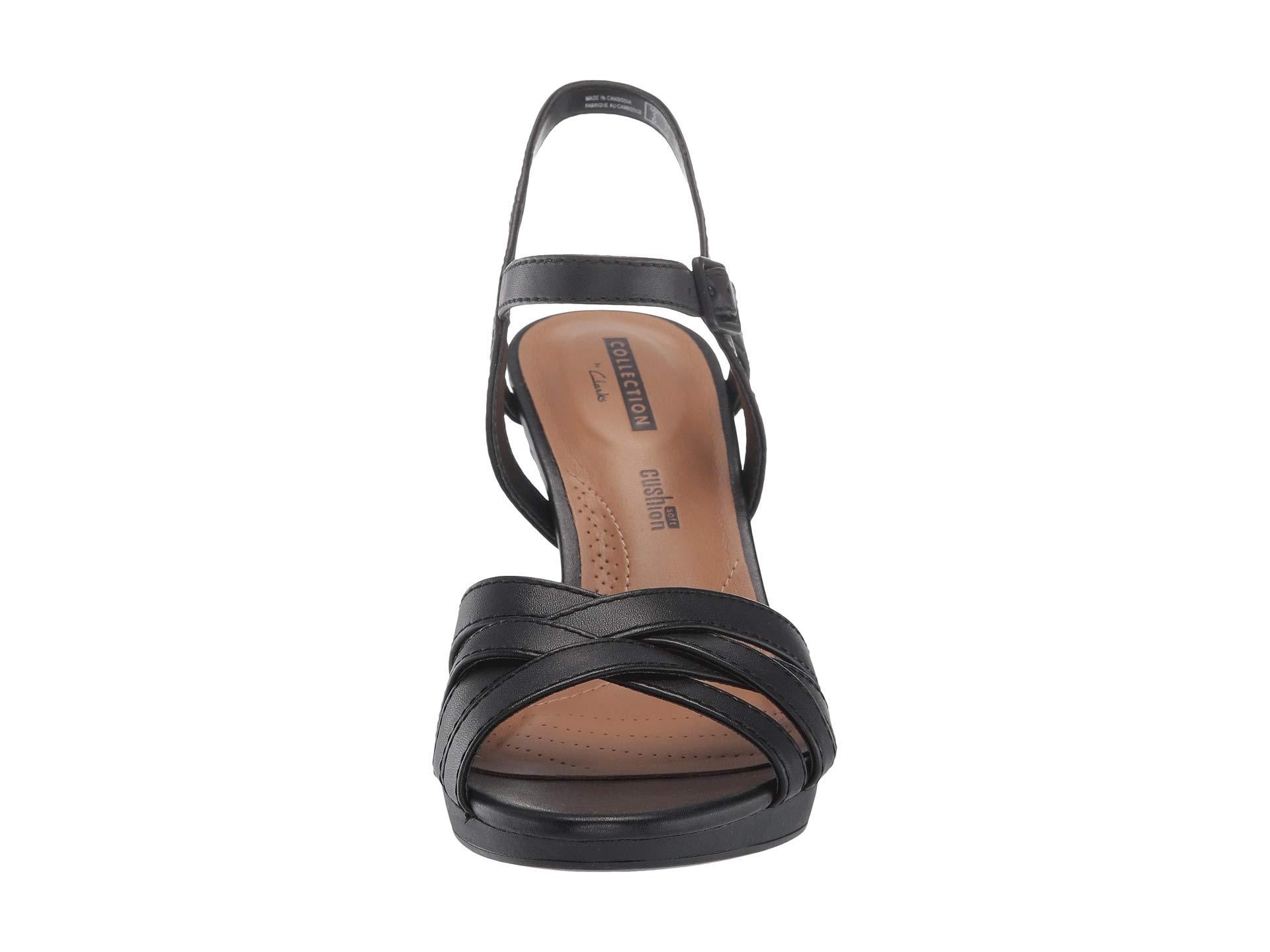 0e3f780c1dcc Clarks - Adriel Wavy (black Leather) High Heels - Lyst. View fullscreen