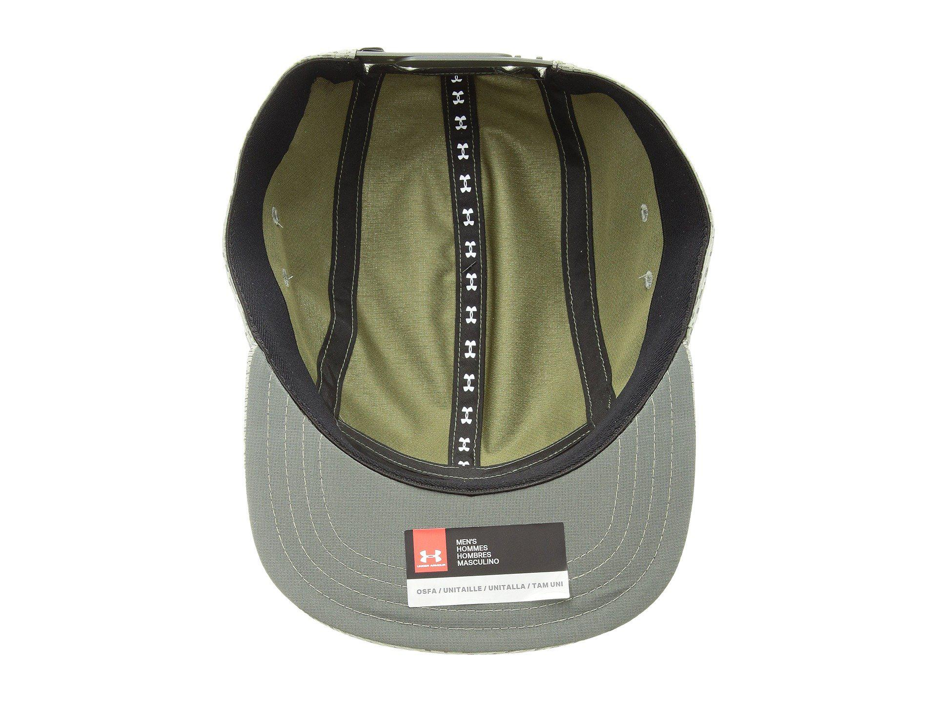 new style 426fd b0096 Under Armour Reflective Camper Cap in Green for Men - Lyst