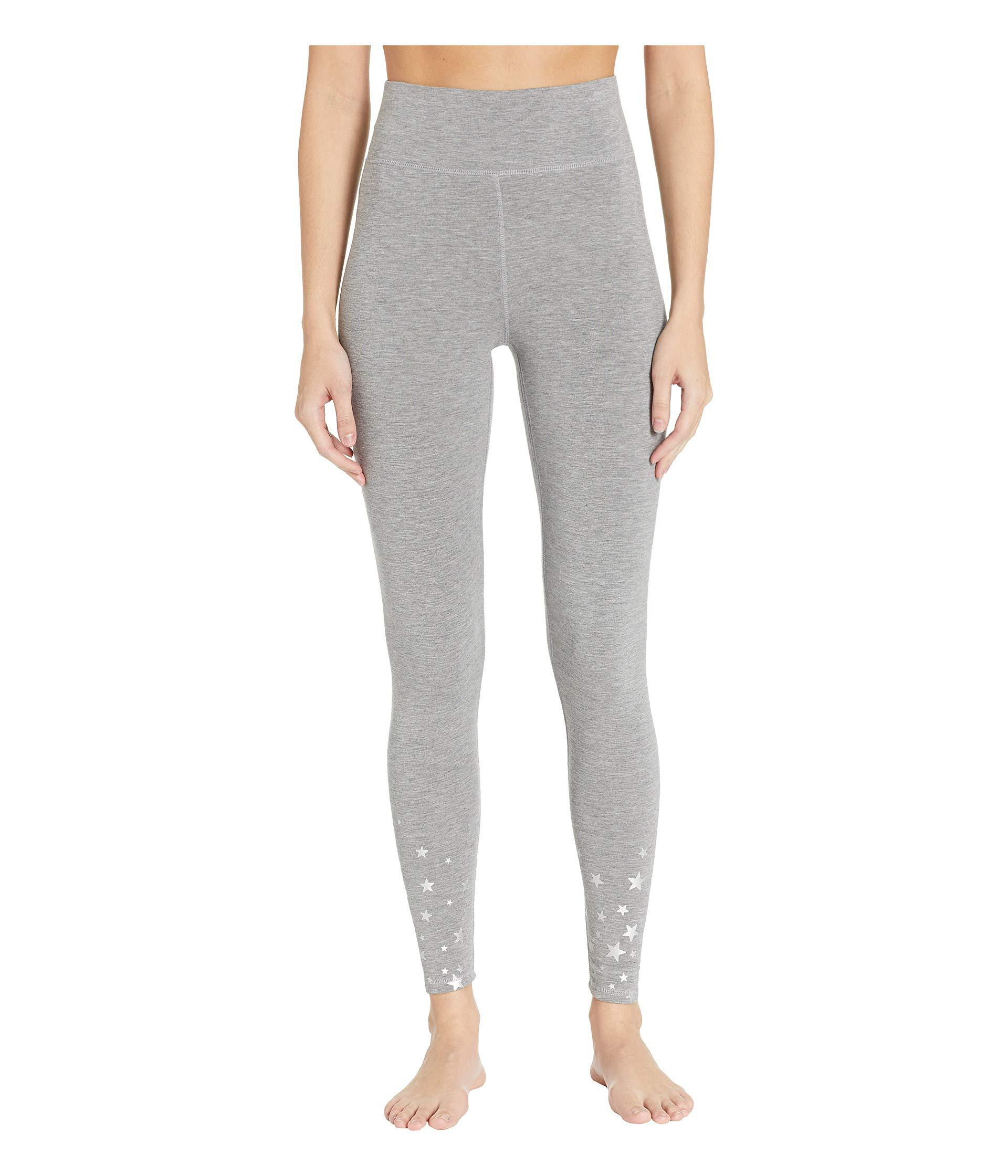 18adf0099f6 Lyst - Pj Salvage Oh Holiday Star Pants (heather Grey) Women s ...