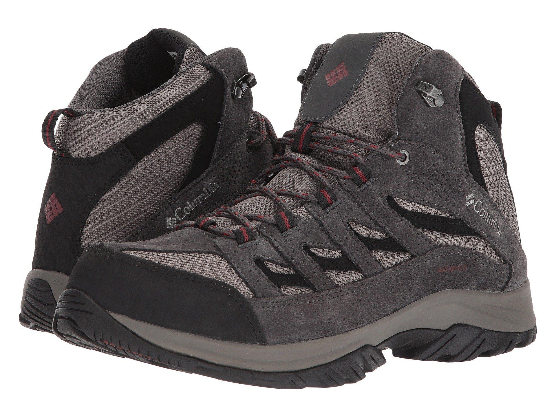 2ef22b35bfb Crestwood Mid Waterproof (cordovan/squash) Men's Shoes