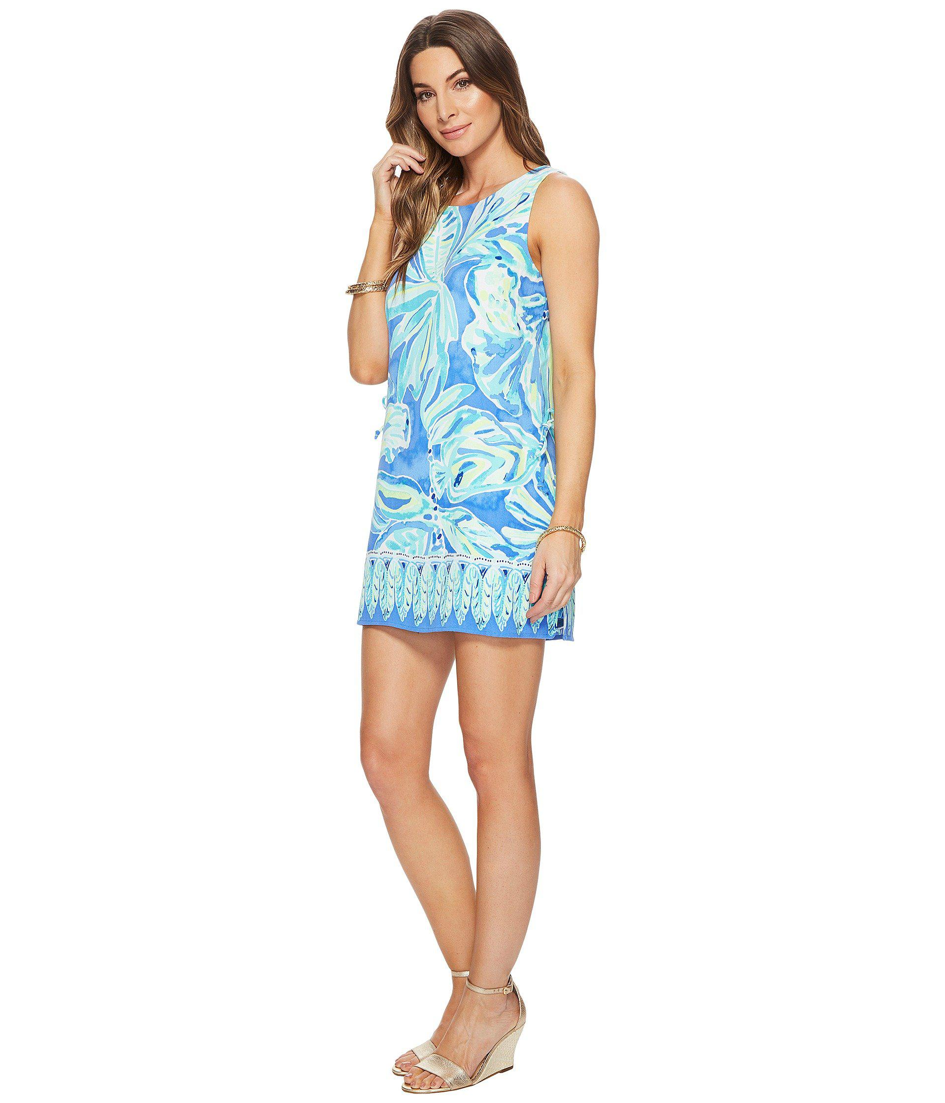87e00fe98a4 Lyst - Lilly Pulitzer Donna Romper in Blue