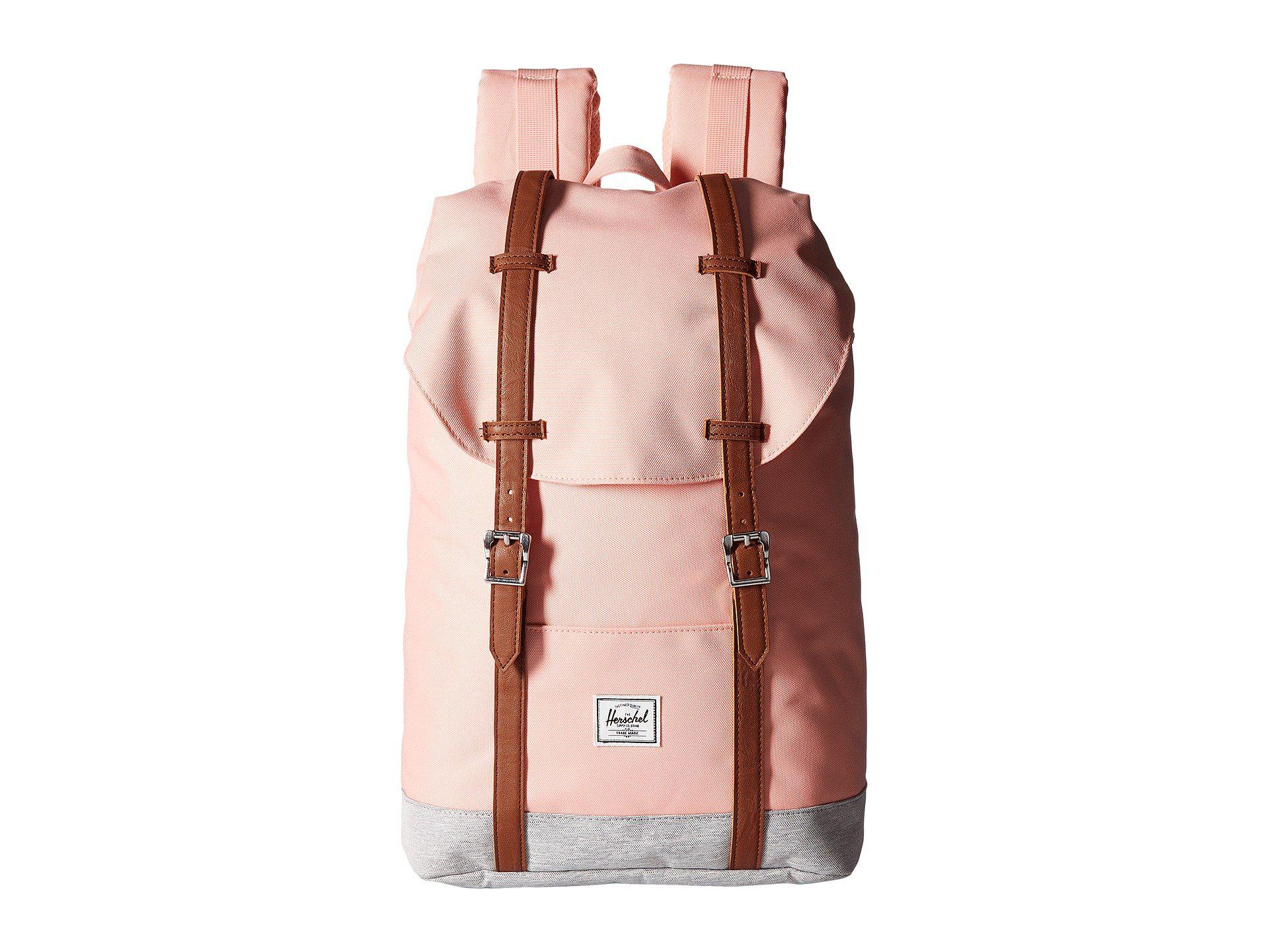 Lyst - Herschel Supply Co. Retreat Mid-volume (black tan Synthetic ... 757be6f30609a