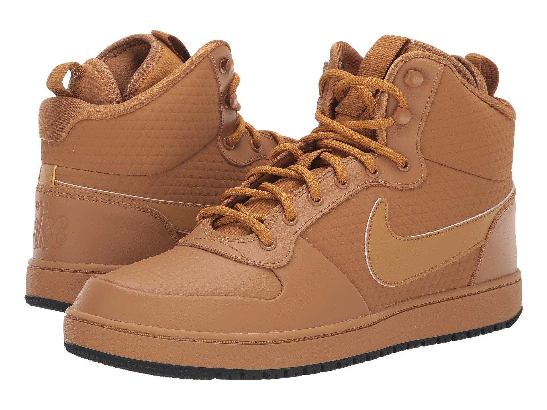 Lyst - Nike Ebernon Mid Winter (black black gum Light Brown) Men s ... ba722ee842