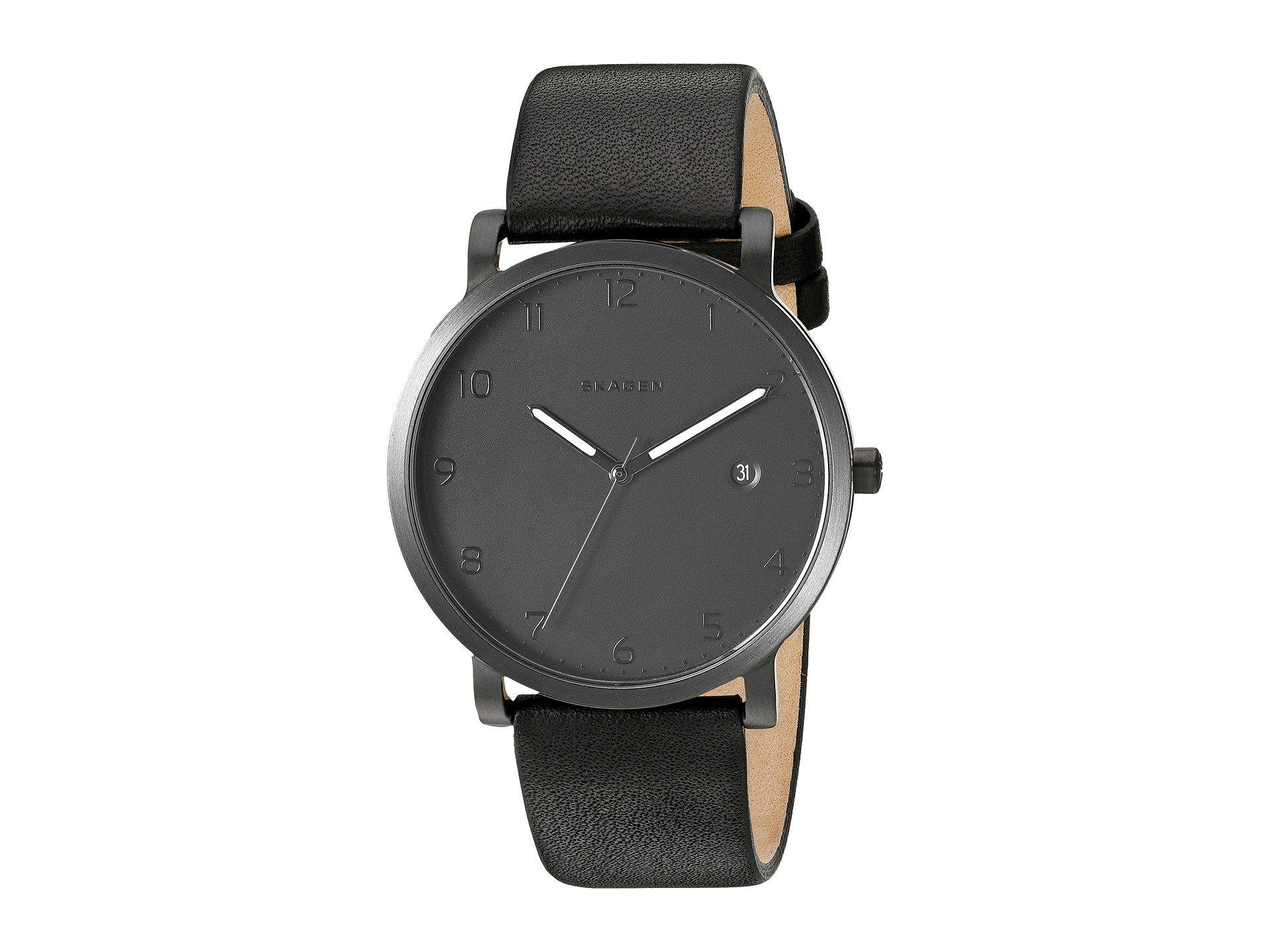 watch dial ethos for watches large men product black skagen with hagen