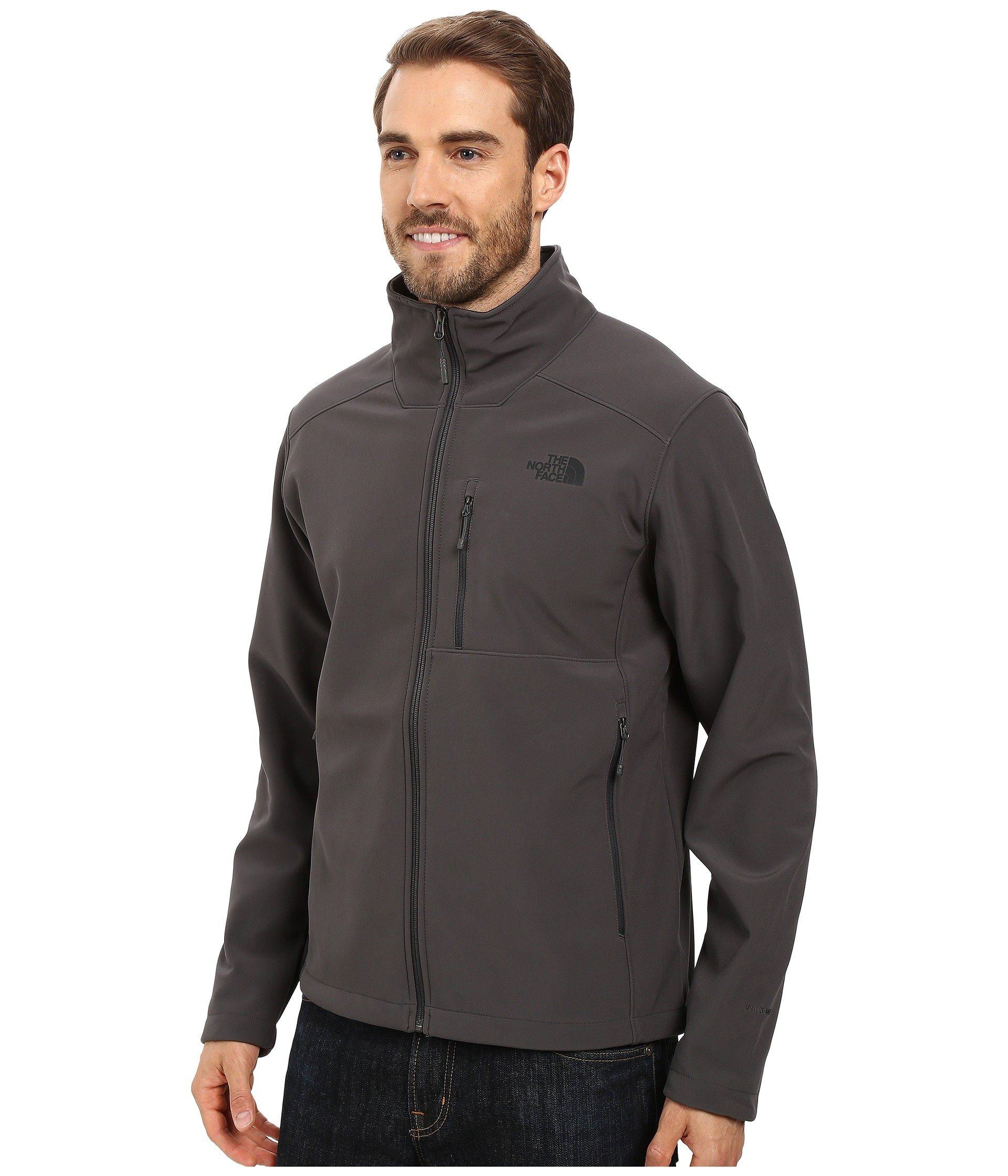 Lyst - The North Face Apex Bionic 2 Jacket (urban Navy Heather) Men s Coat  in Gray for Men - Save 19% 2fe3858088fe