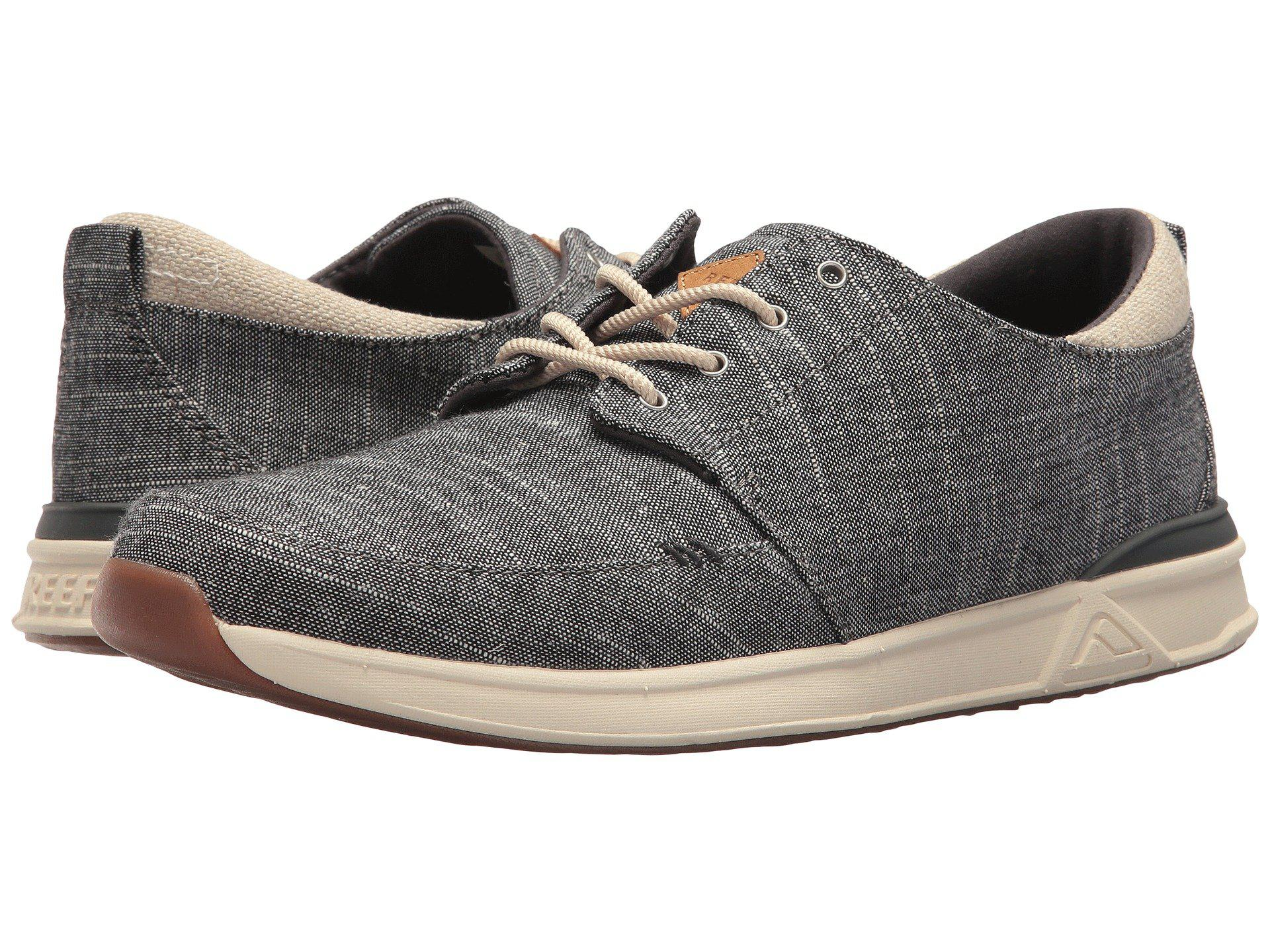 a290c1e52b05 Lyst - Reef Rover Low Tx (grey heather) Men s Shoes in Black for Men