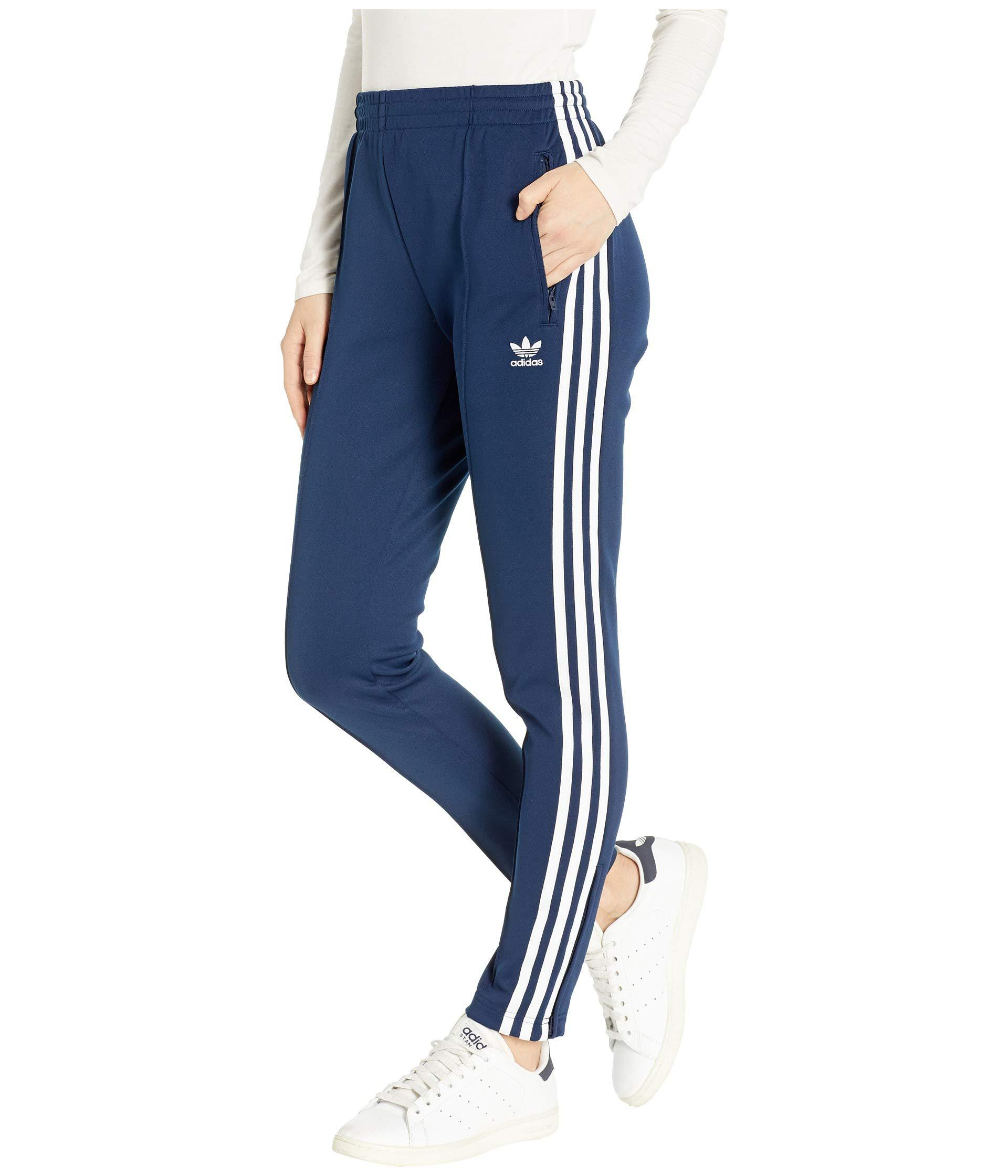 6906f065e81 adidas Originals Sst Track Pants (dark Blue) Women's Workout in Blue ...
