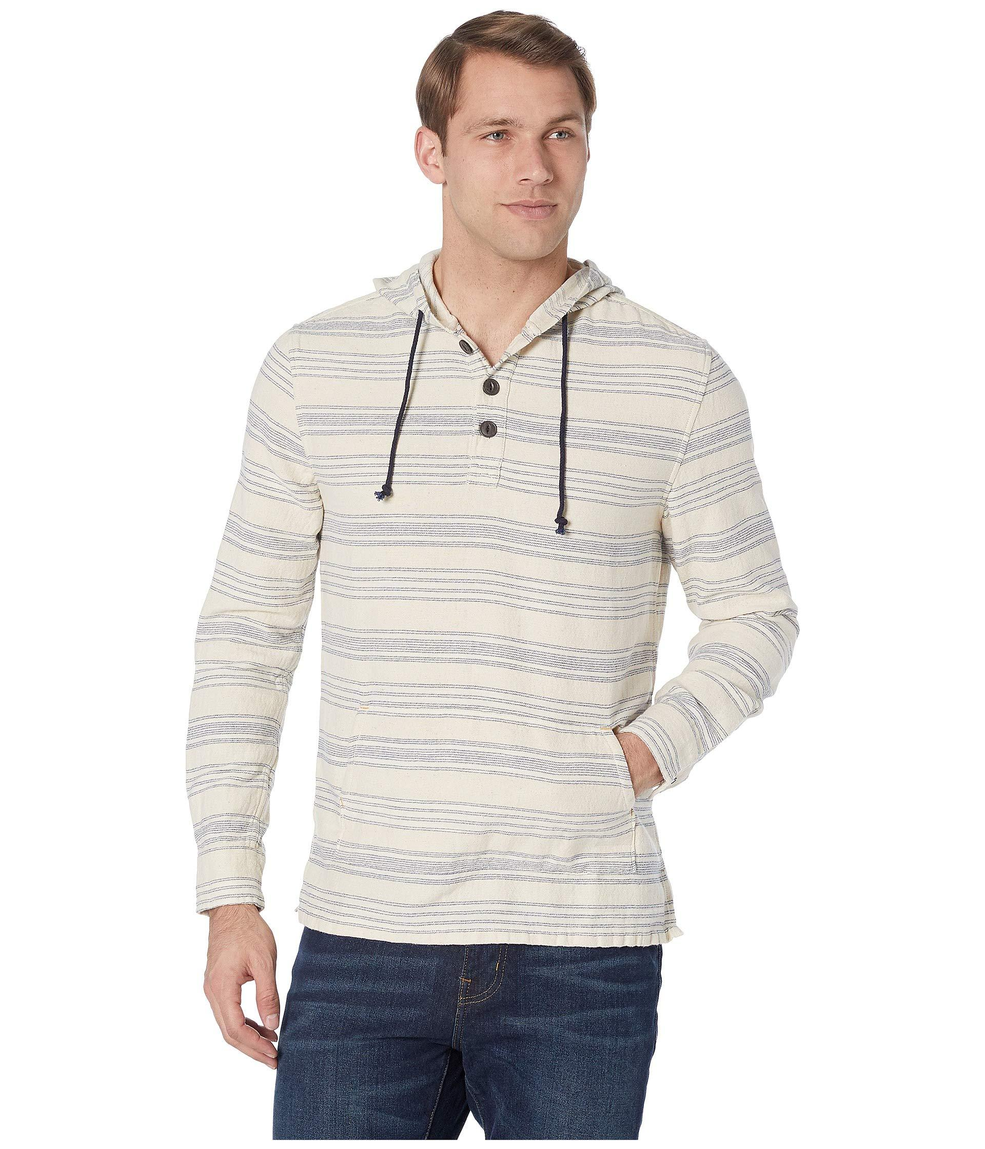 Lyst - True Grit Pacific Hoodie Poncho (natural/blue) Men's