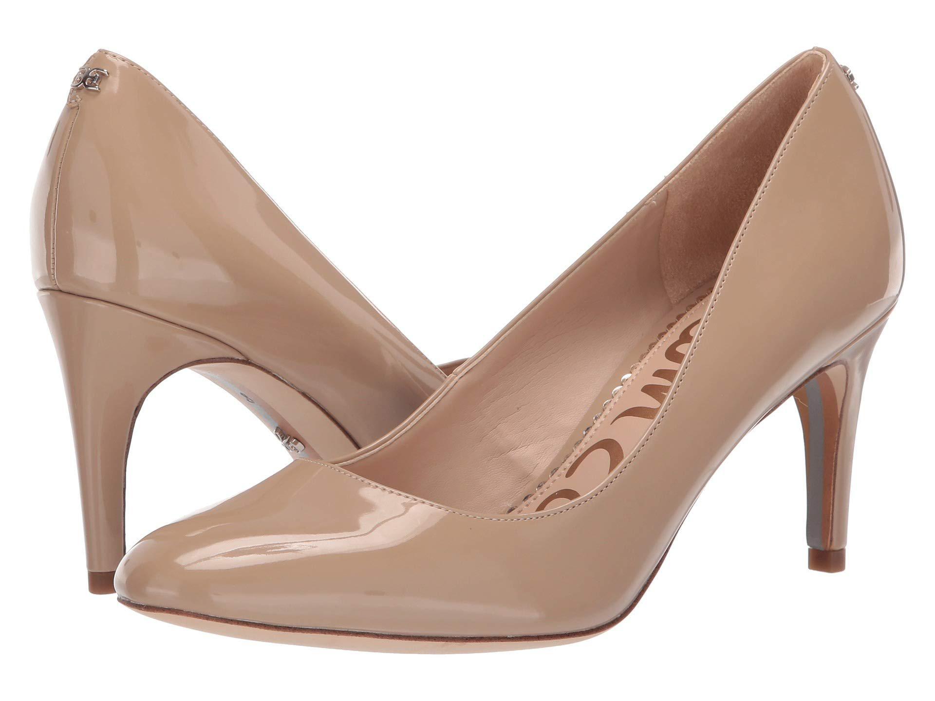 c30dca8141f1e0 Lyst - Sam Edelman Elise (black Patent) Women s Shoes in Natural