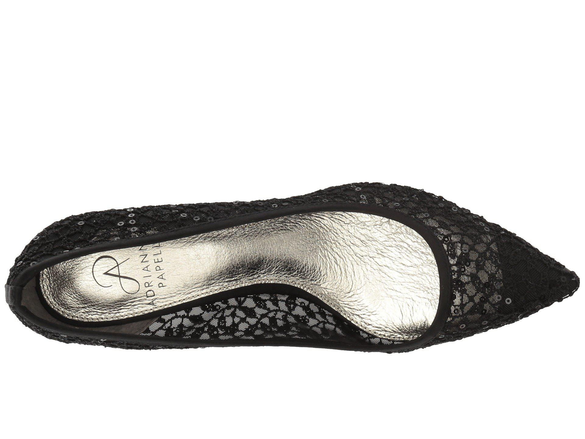 8cedb81ea49 Adrianna Papell - Black Lois Lace (ivory 1890 Lace) Women s 1-2 Inch. View  fullscreen
