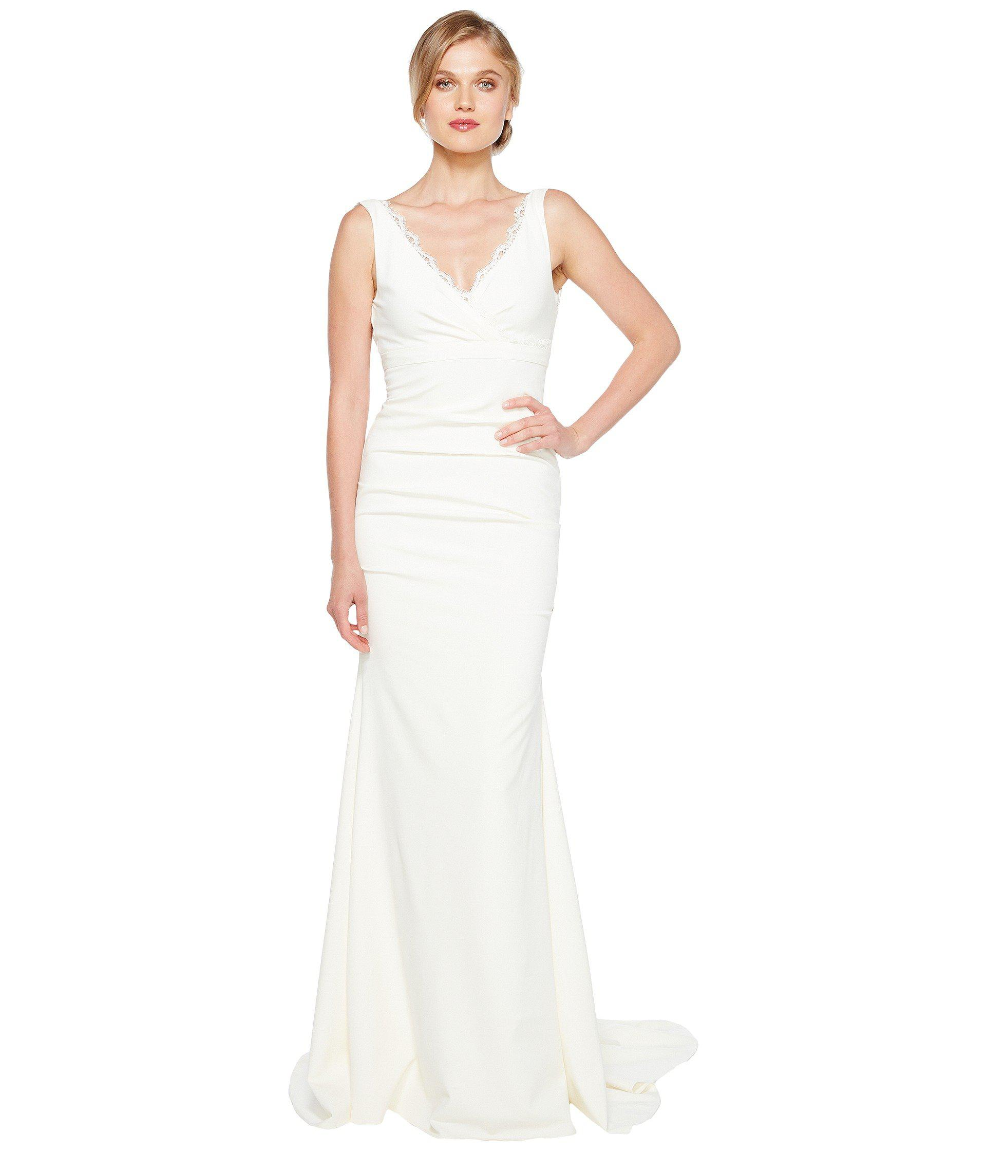 Gallery Nicole Miller Bridal Wedding Dresses: Nicole Miller Nina Bridal Gown (ivory) Women's