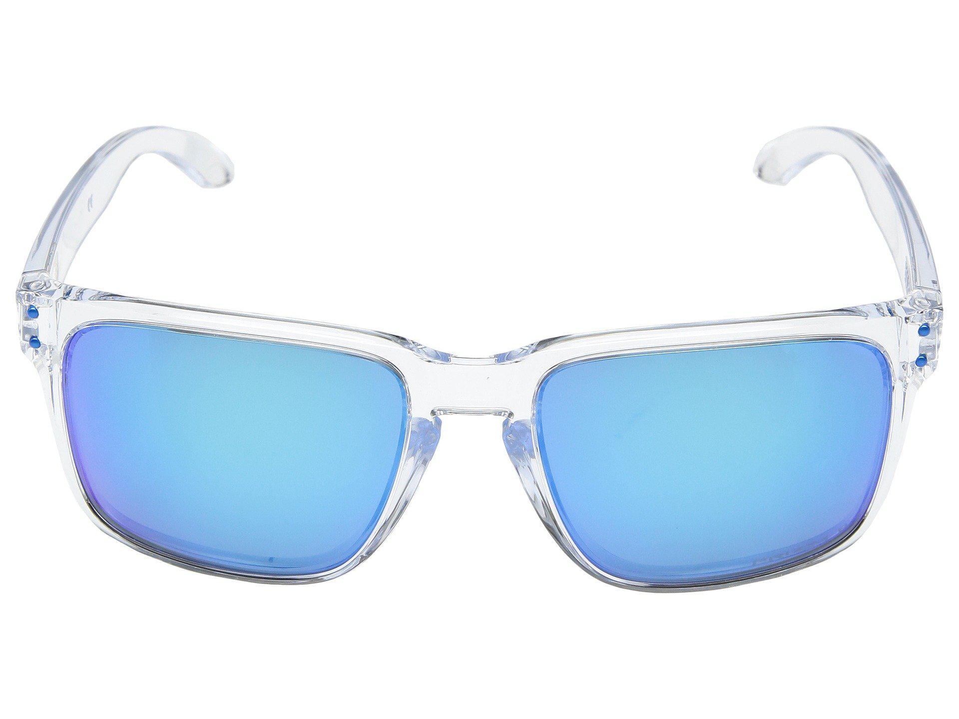 c5a10b85b7 Oakley - Blue Holbrook Xl Sgh Exclusive (polished Clear W  Prizm Sapphire  Polarized). View fullscreen