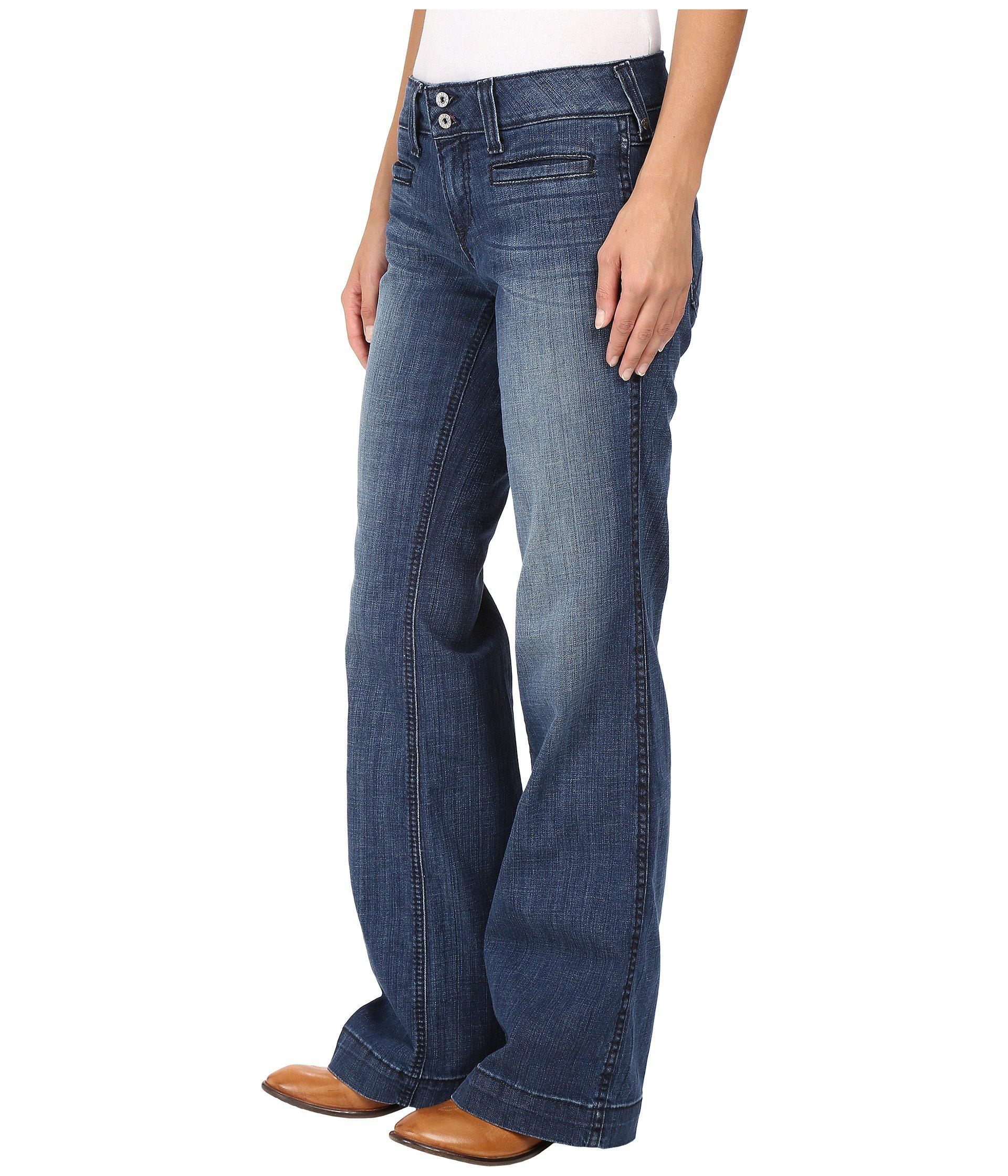 e99393de4b2e4 Lyst - Ariat Trouser Ella Jeans In Bluebell (bluebell) Women s Jeans in  Blue - Save 13%