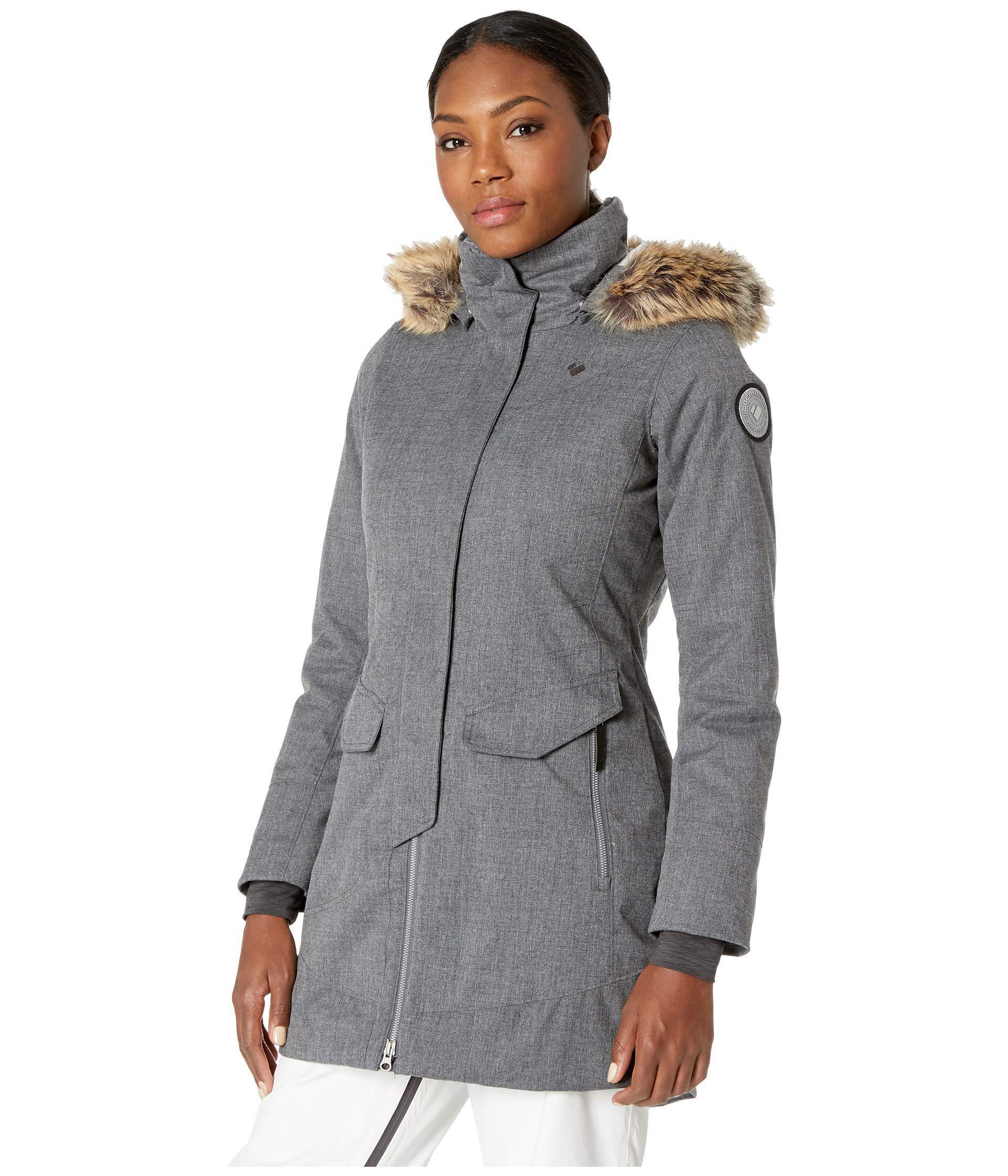 cd2b7b7eb0 Lyst - Obermeyer Sojourner Down Jacket (major Red) Women s Coat in Gray
