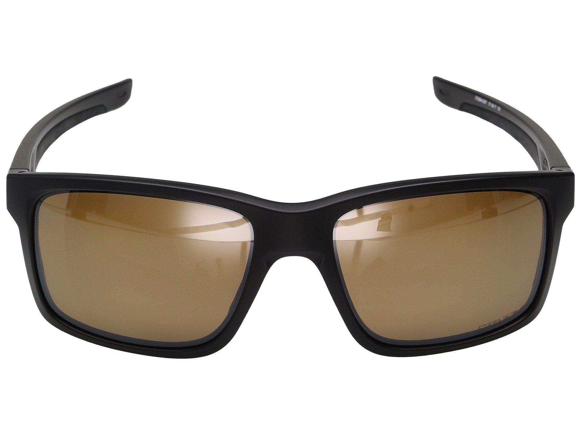 3a87981766f Oakley - Mainlink (matte Black W  Prizm Tungsten Polarized) Fashion  Sunglasses for Men. View fullscreen