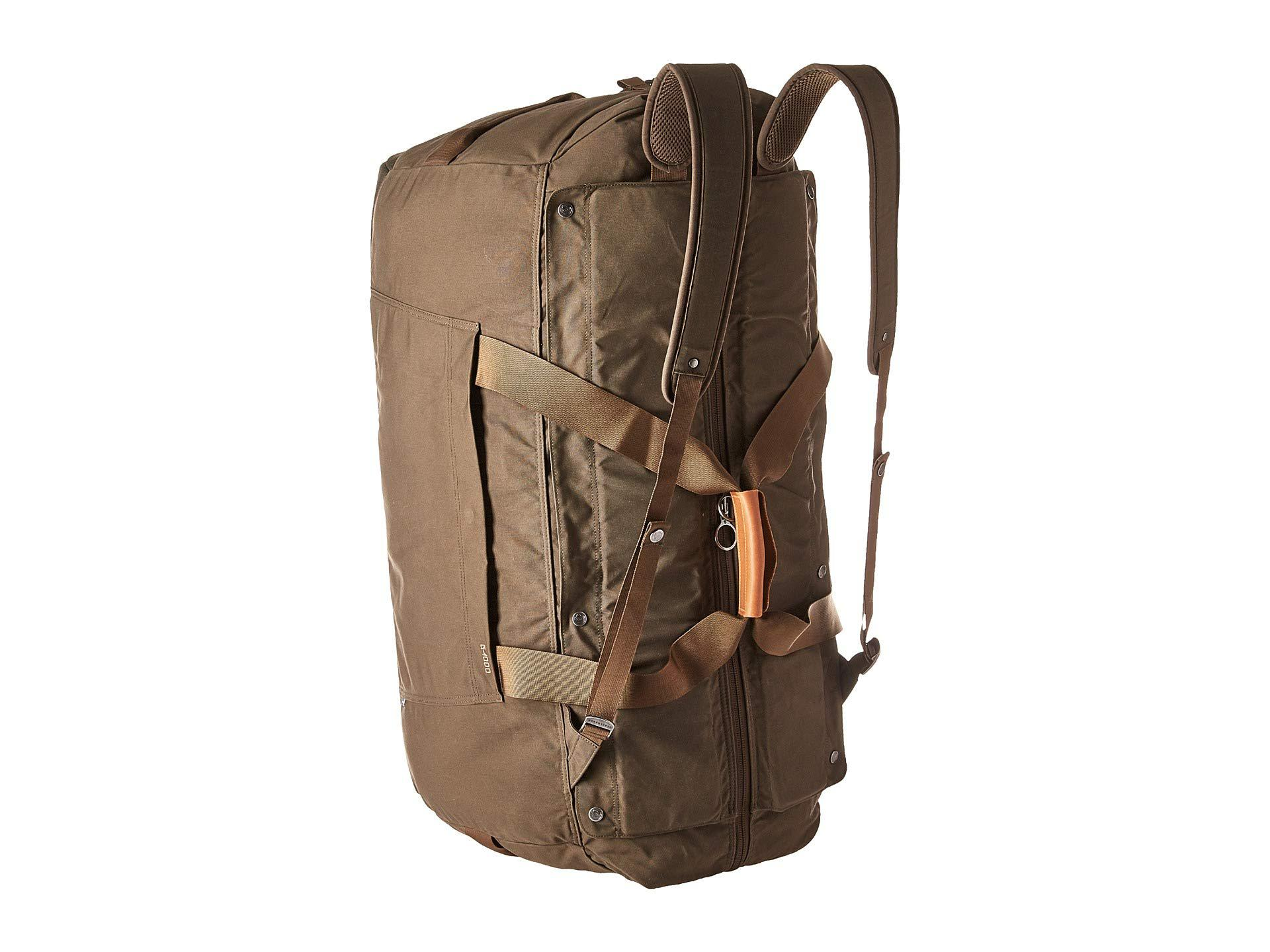79abd80c4aa Lyst - Fjallraven Duffel No.6 Large (dark Olive) Bags in Green for Men