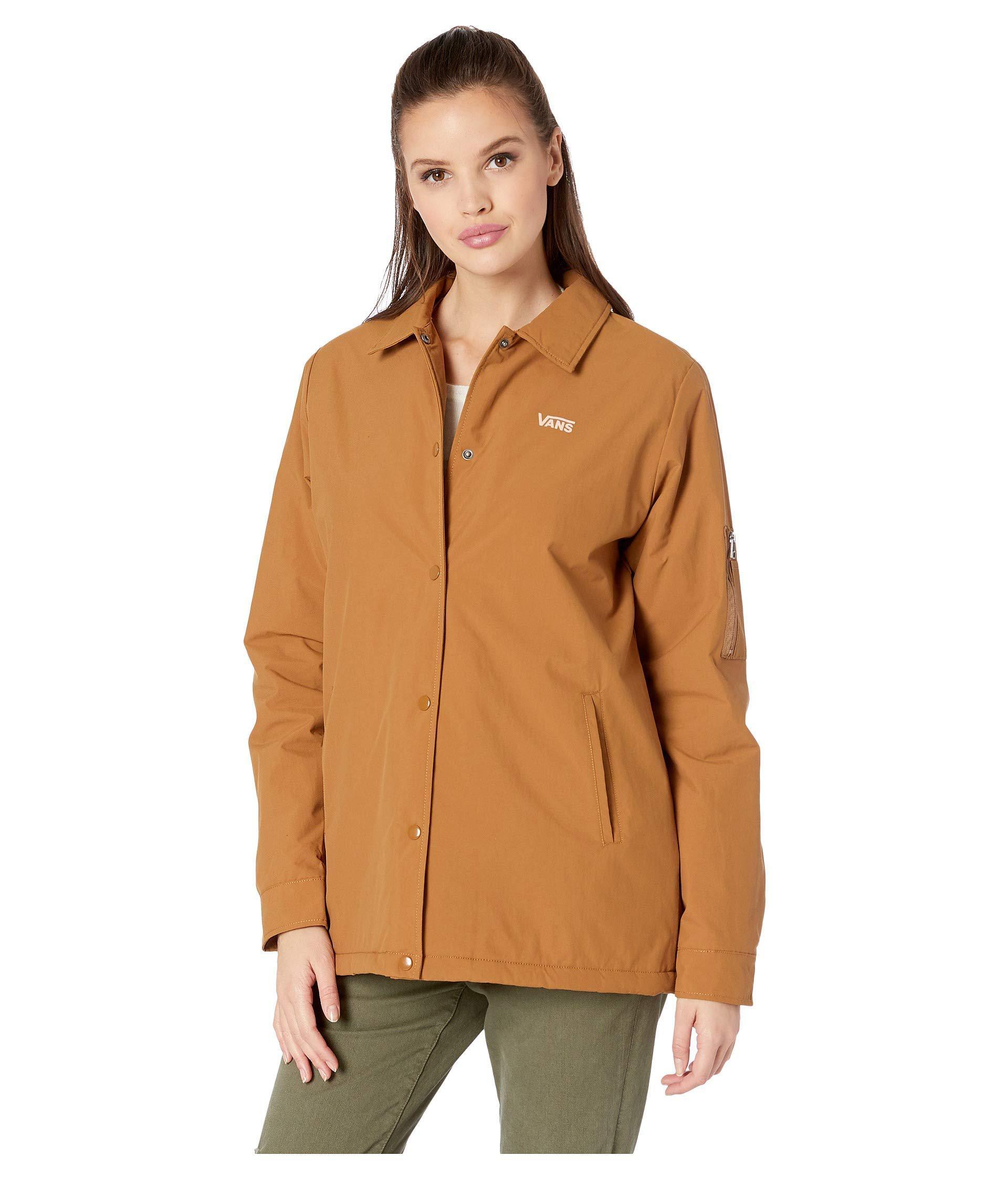 8761c66a7a8 Lyst - Vans Thanks Coach Sherpa Mte (rubber) Women s Coat in Brown