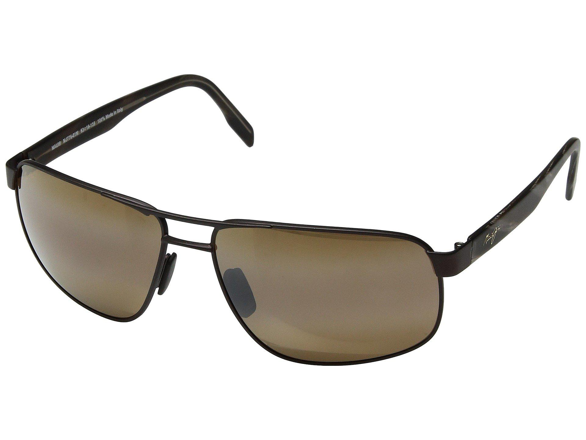 Maui Jim Naupaka Sonnenbrille Satin Schokolade 01M Polarisiert 53mm SmQ6rr2