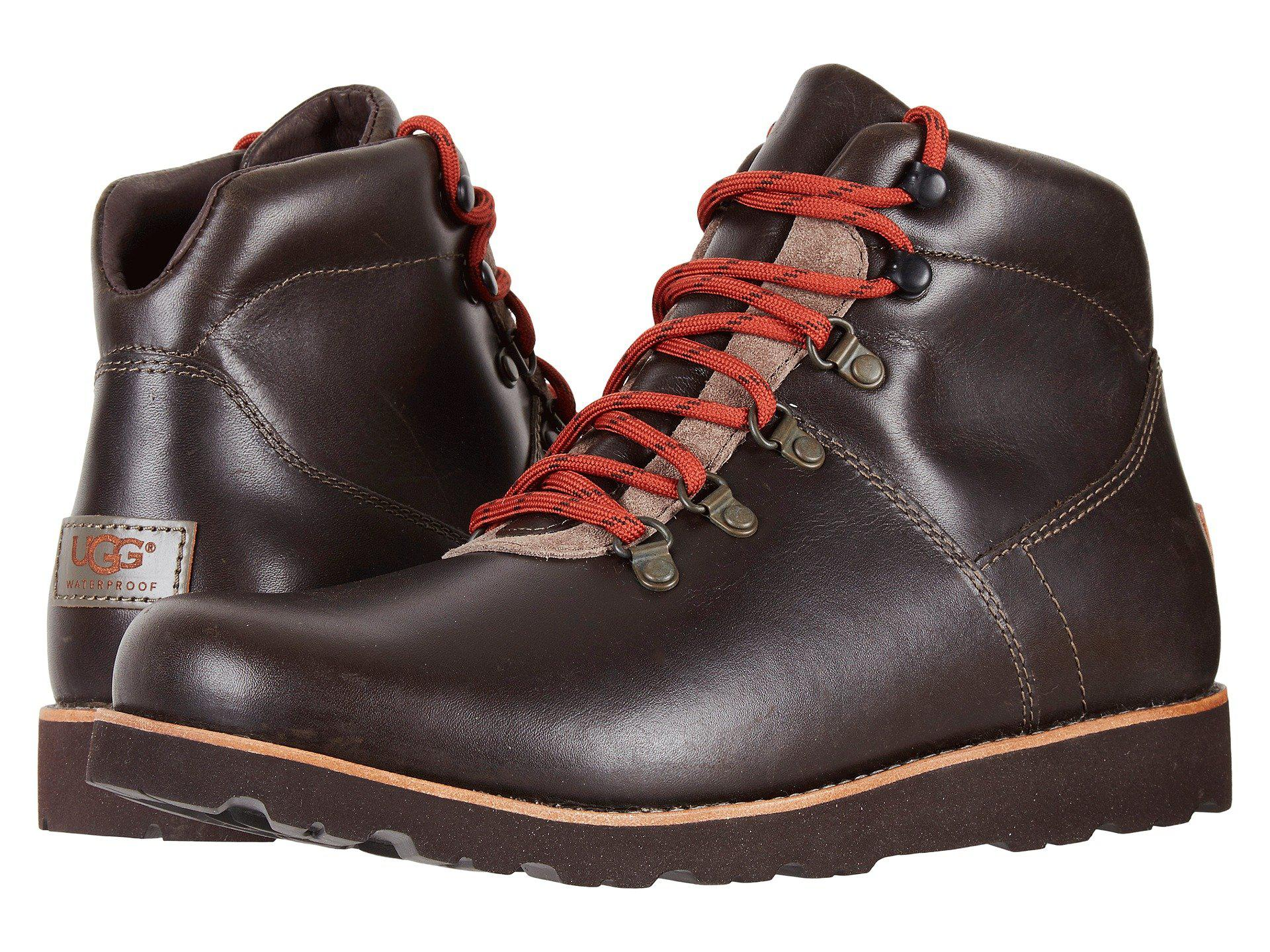 Hafstein Boots charcoal Men's Men Ugg For Lyst 05qpaa