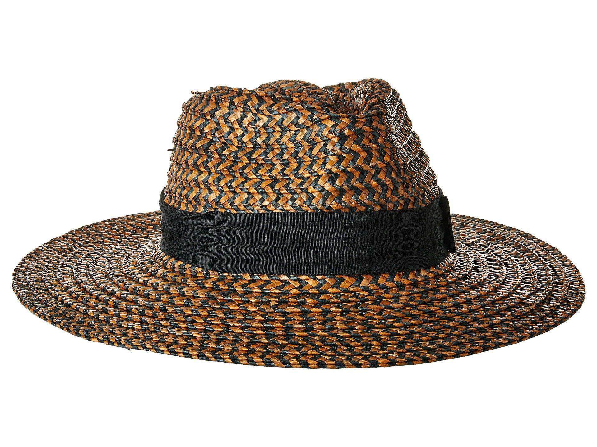 ceb7eae777af7 Lyst - Brixton Joanna Hat (washed Black brown) Caps in Brown
