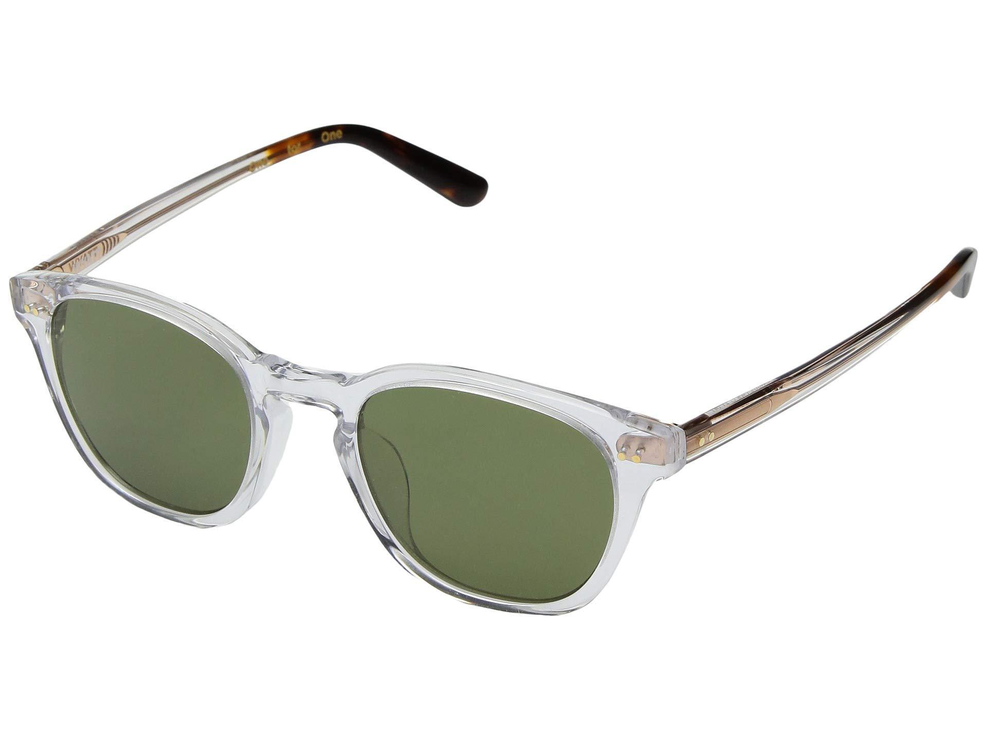 a3c3ff0c445 Lyst - TOMS Wyatt (peach Crystal/peach Mirror) Fashion Sunglasses in ...