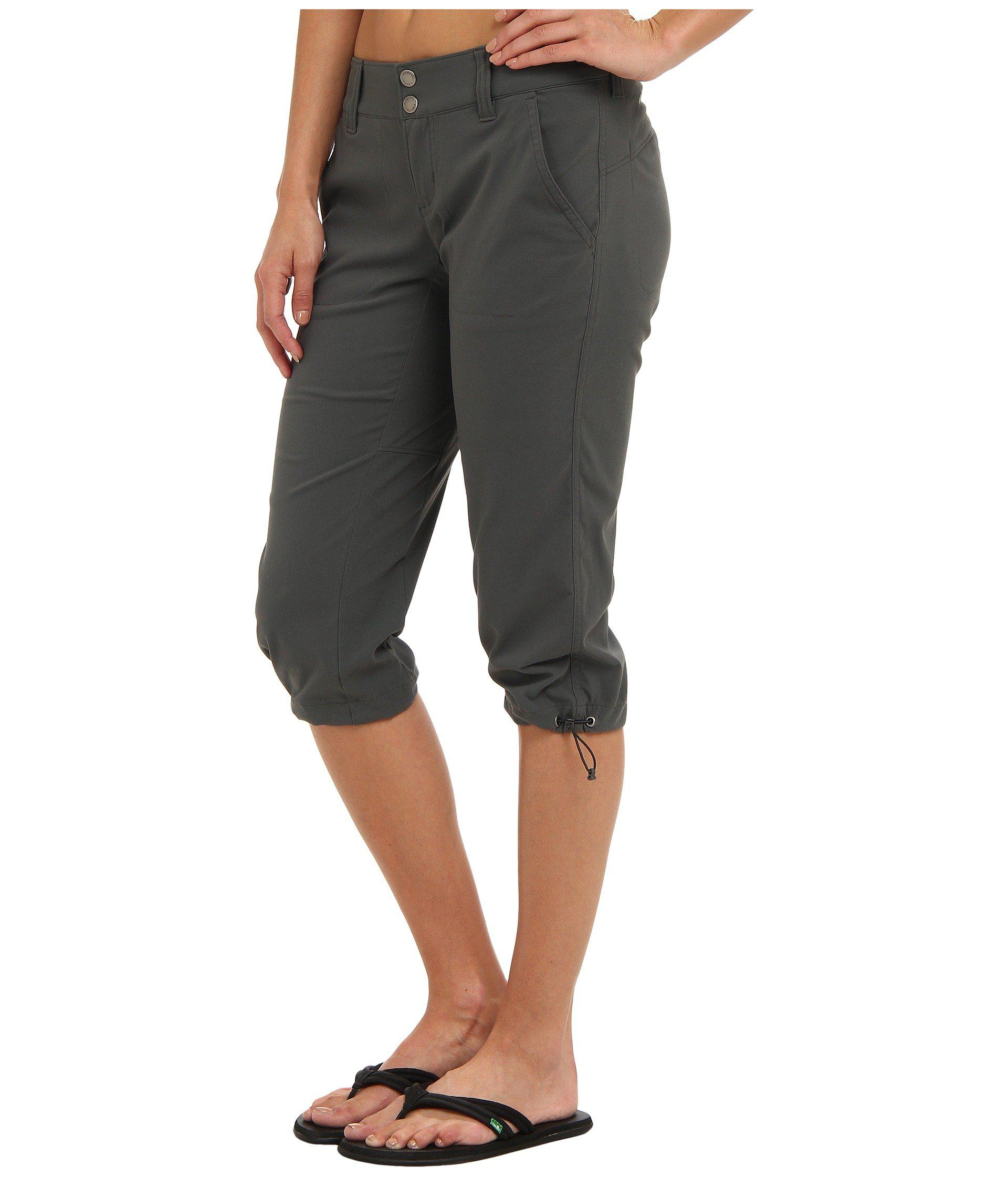 c58ce89b7de8d Lyst - Columbia Saturday Trailtm Ii Knee Pant (grill) Women s Capri in Brown