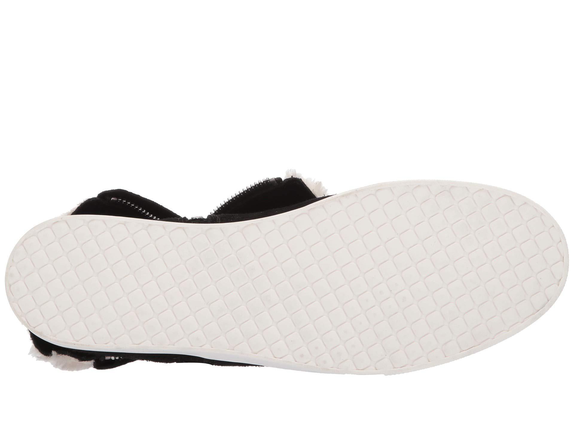 9b8befbdb11 Steve Madden - Wanda Wedge Sneaker (black Suede) Women s Wedge Shoes -  Lyst. View fullscreen