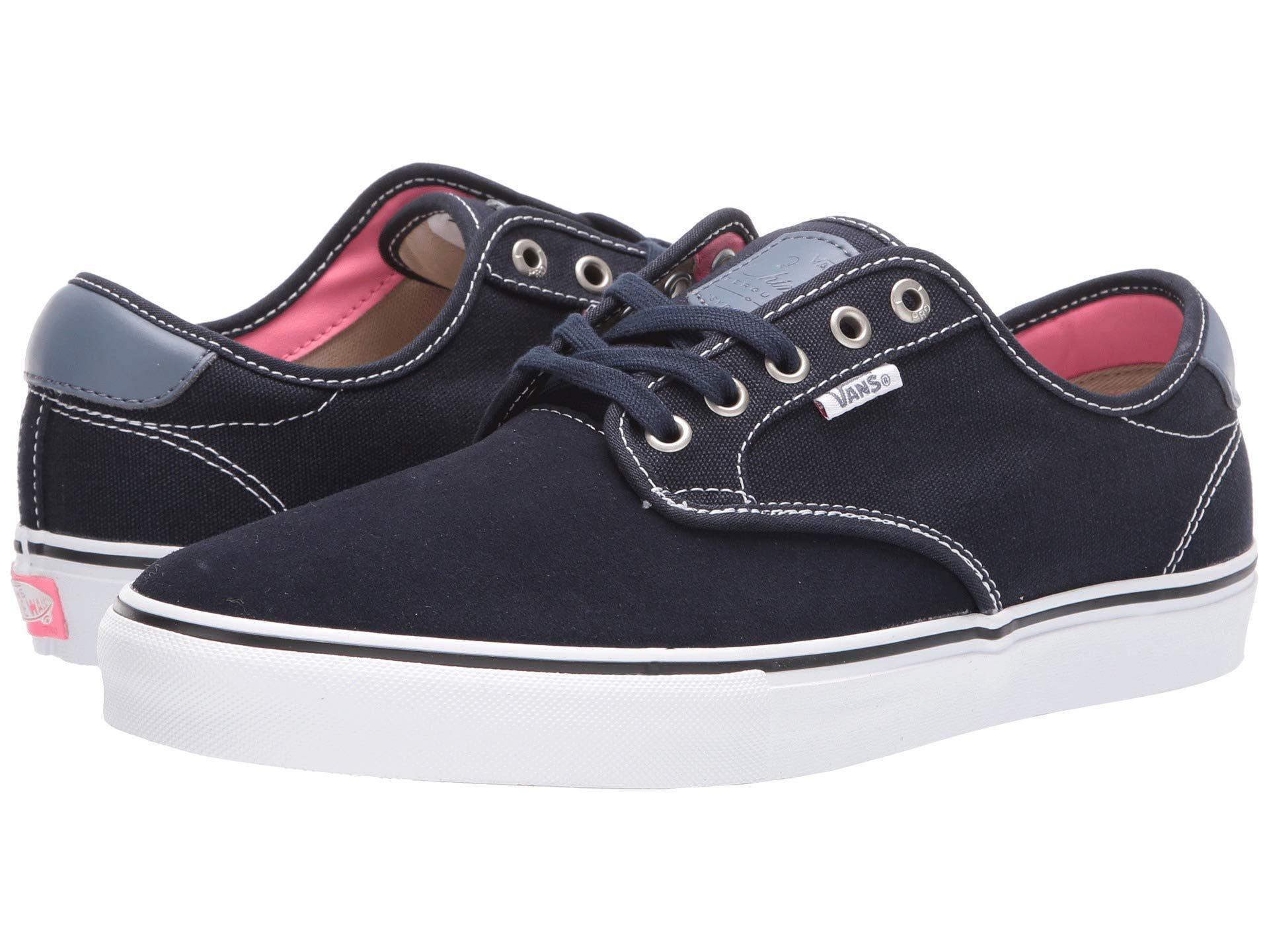 87dfde18d92 Lyst - Vans Chima Ferguson Pro ((twill) Blackout) Men s Skate Shoes ...