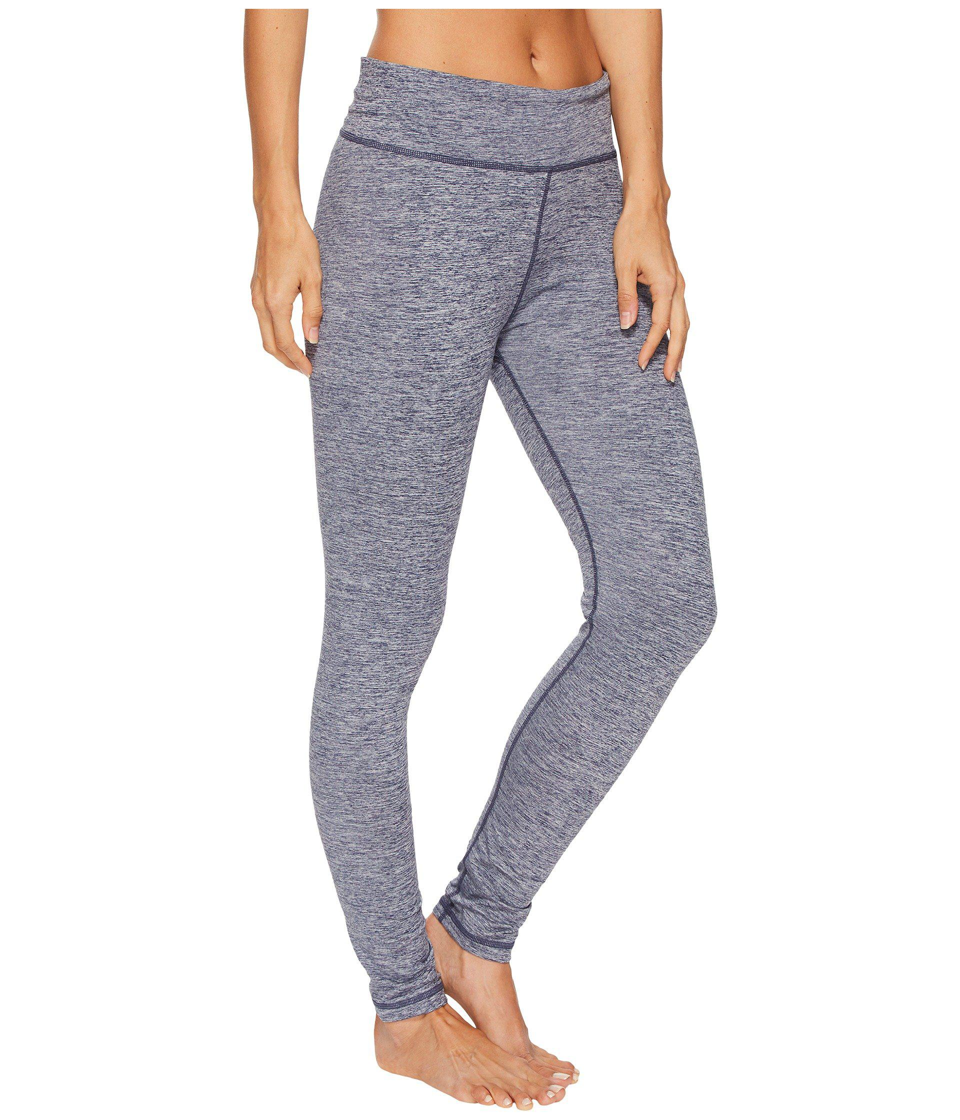 57b6807cc24a Lyst - Adidas Performer High-rise Brushed Cozy Tights in Blue