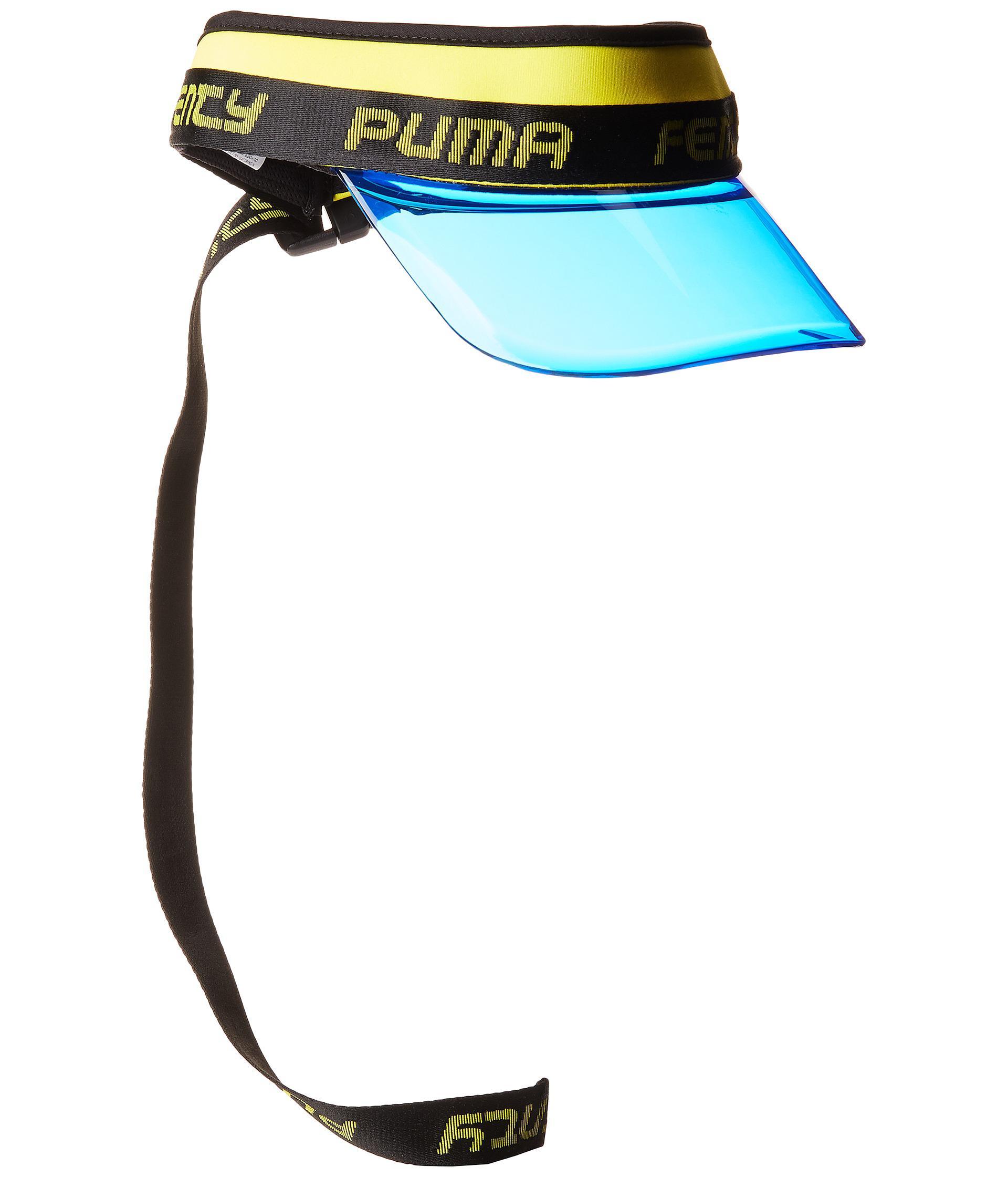 Lyst - PUMA X Fenty By Rihanna Clear Surf Visor in Blue 6bb827f1c87