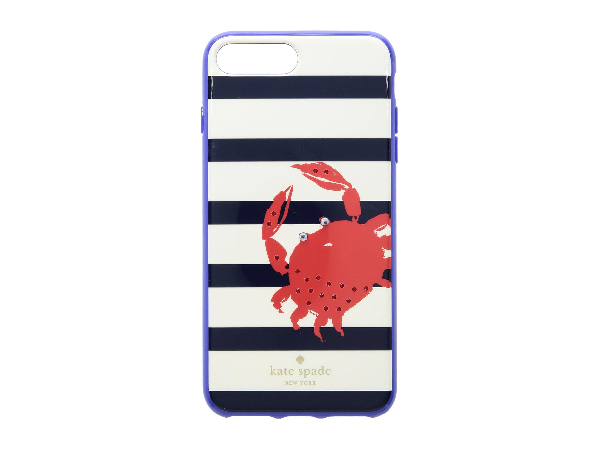 new style 3872c eed64 Kate Spade Jeweled Stripe Crab Phone Case For Iphone® 8 Plus in Blue ...