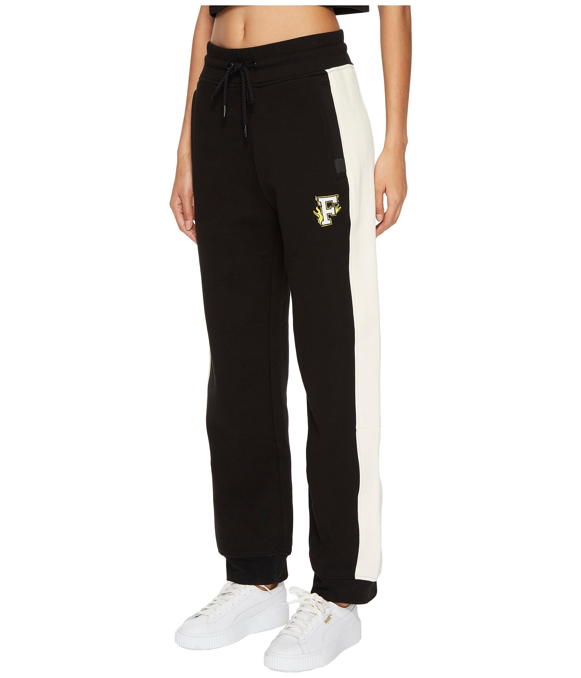 b27398f1a216 Lyst - PUMA X Fenty By Rihanna Fitted Panel Sweatpants in Black