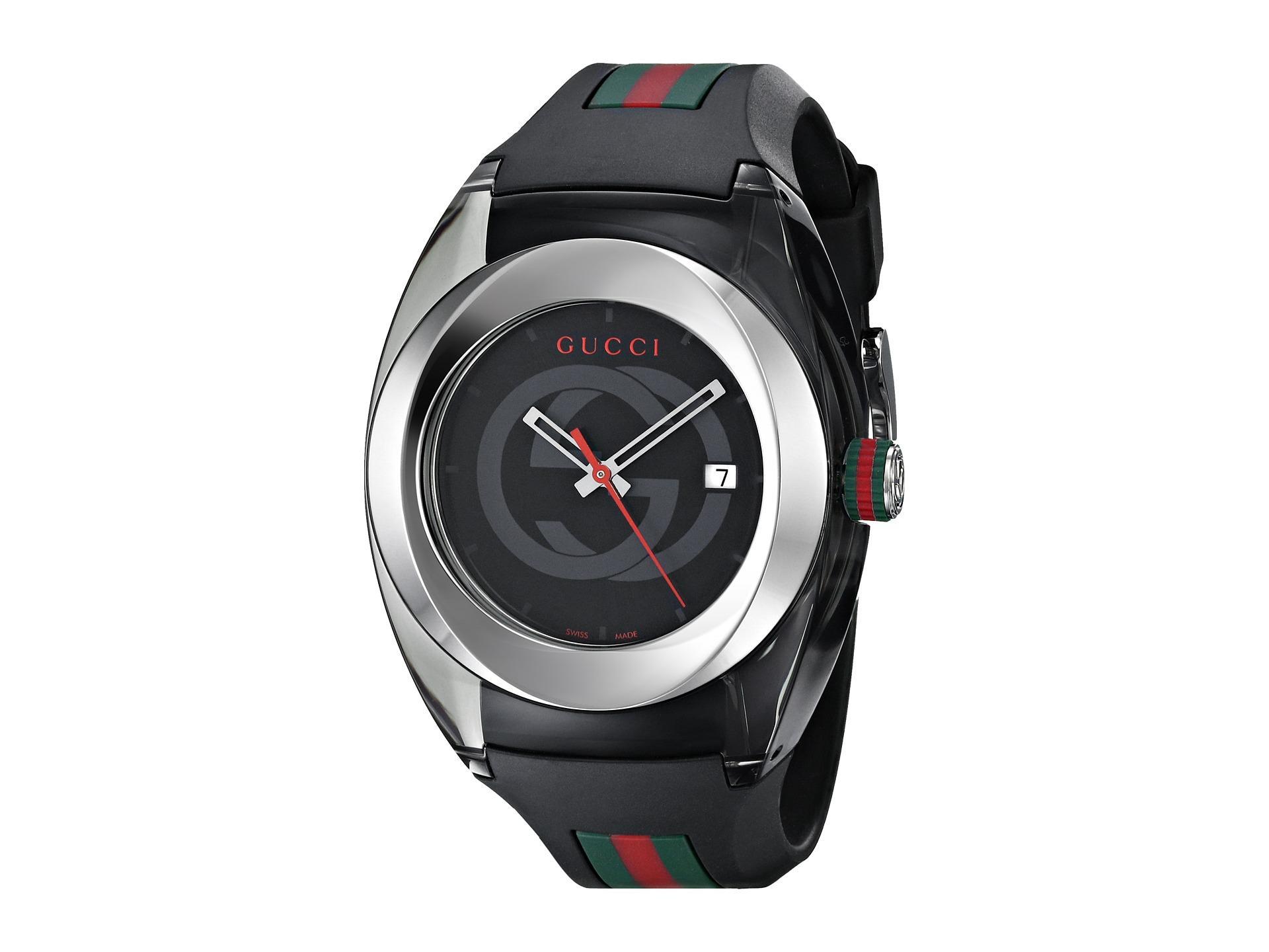69a09a9e517 Lyst - Gucci Sync Xxl-ya137101 in Metallic for Men