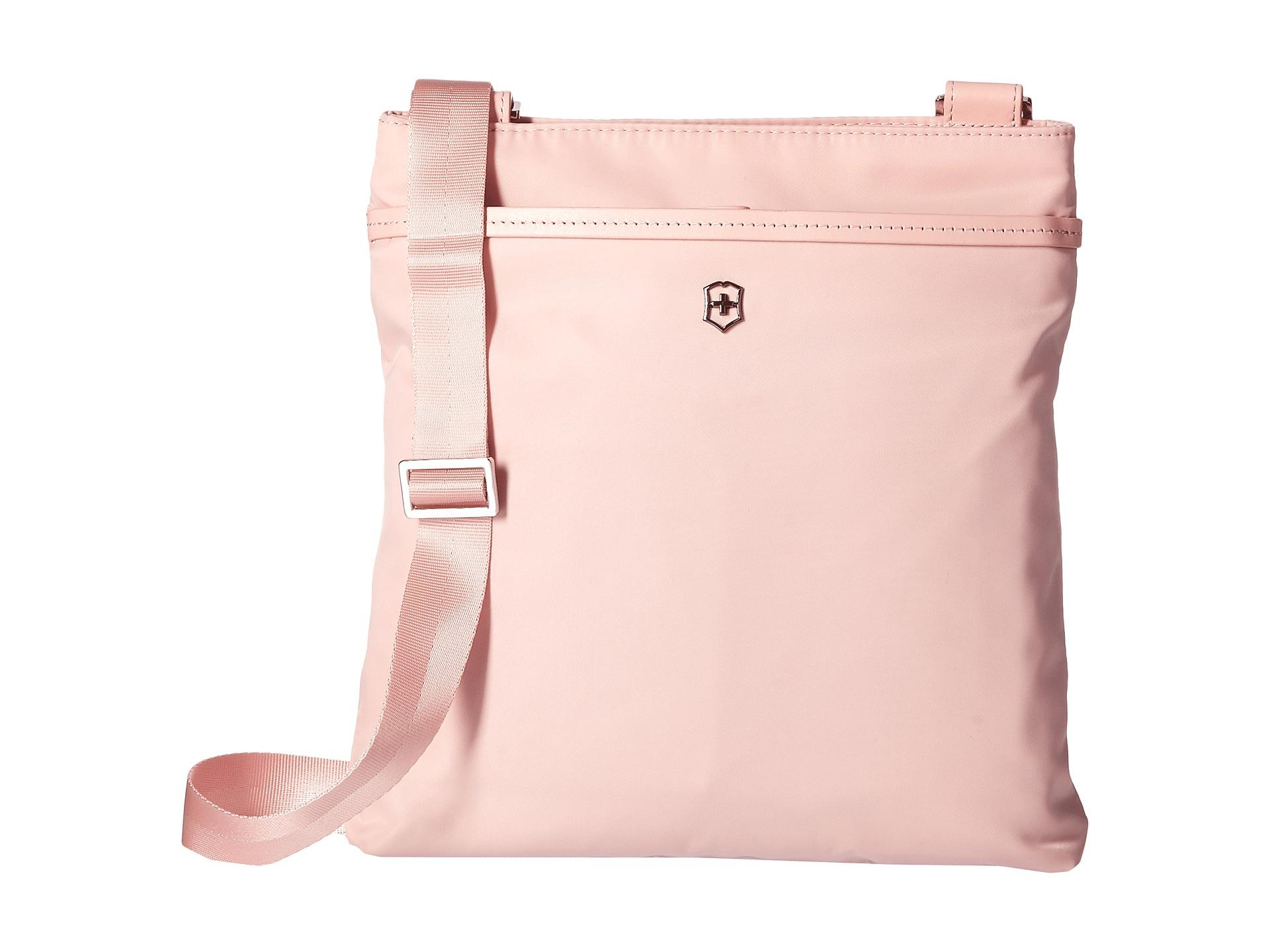 5b989f1d7c Lyst - Victorinox Victoria Affinity Crossbody Day Bag in Pink