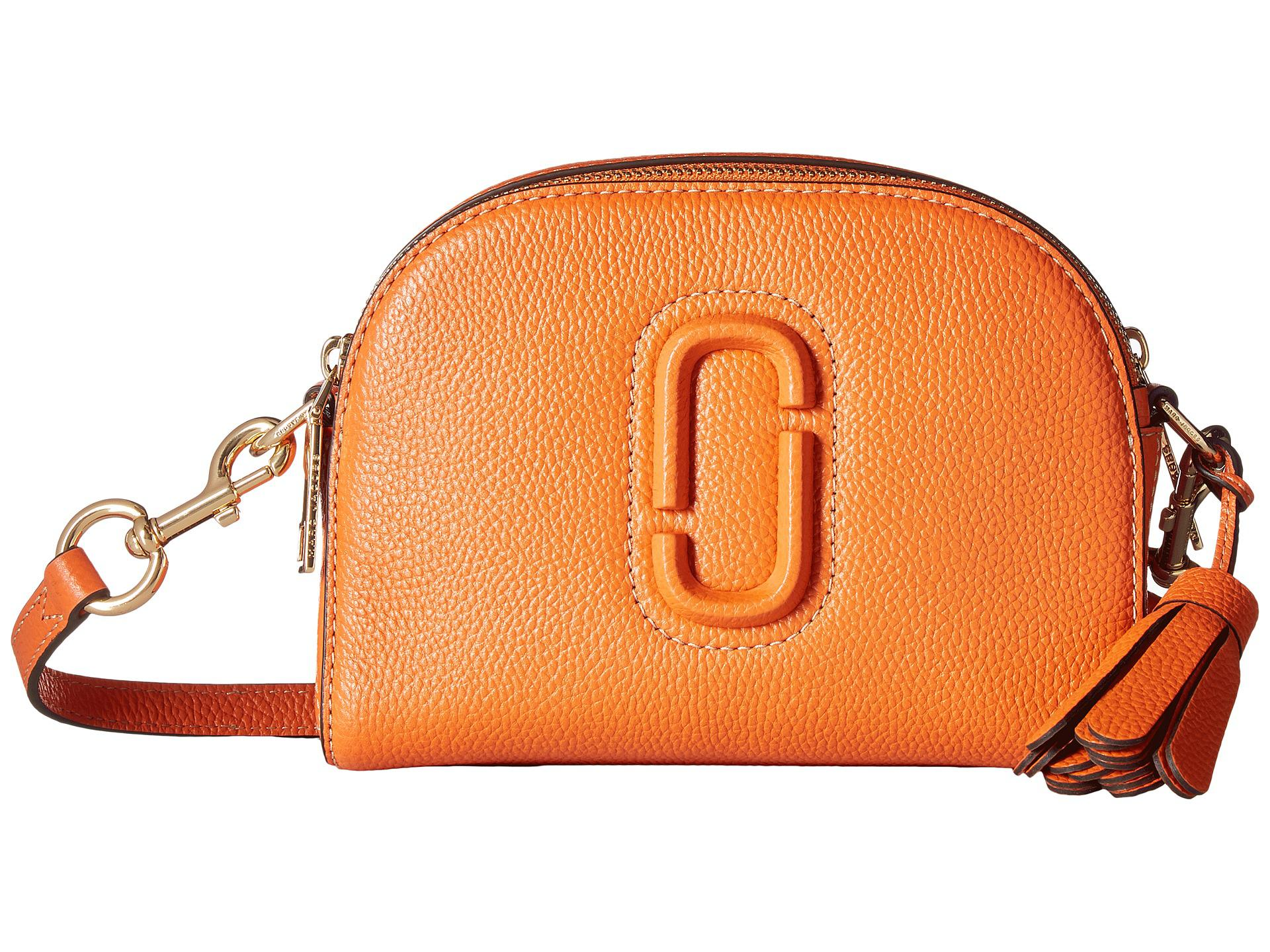 4cc3572e3 Marc Jacobs Shutter Small Camera Bag in Orange - Lyst