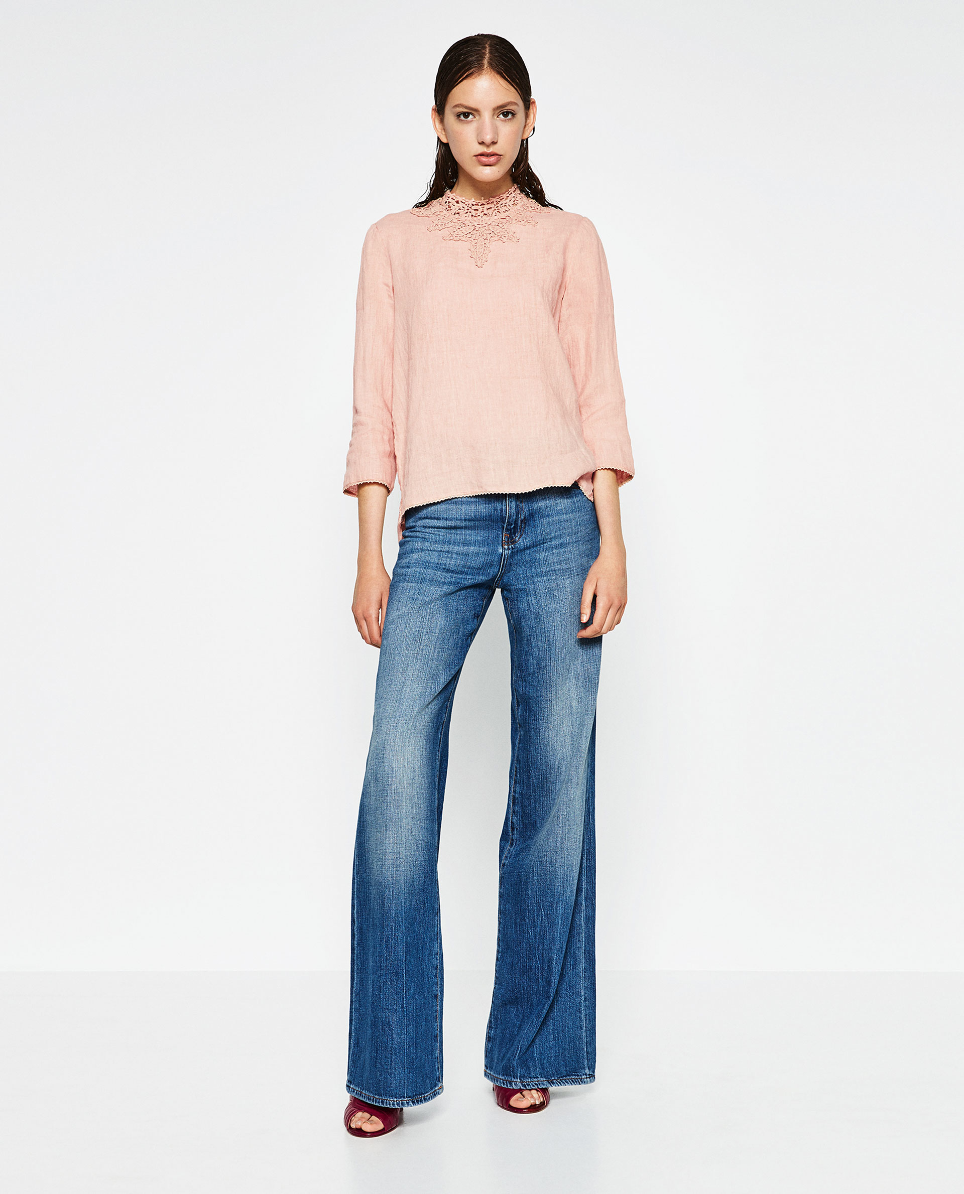 Zara Linen Blouse 87